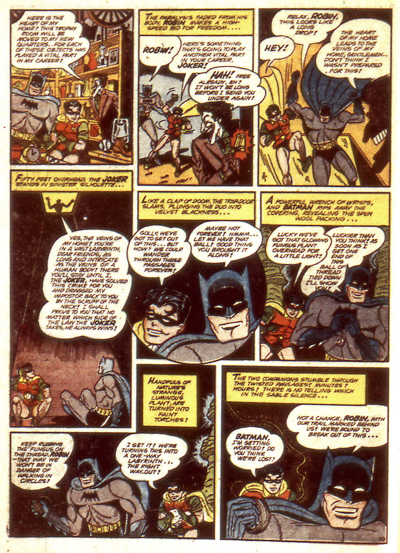 Read online Detective Comics (1937) comic -  Issue #85 - 6