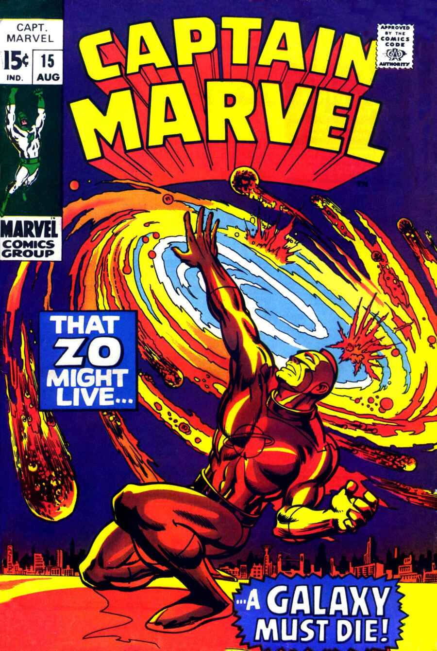 Captain Marvel (1968) 15 Page 1