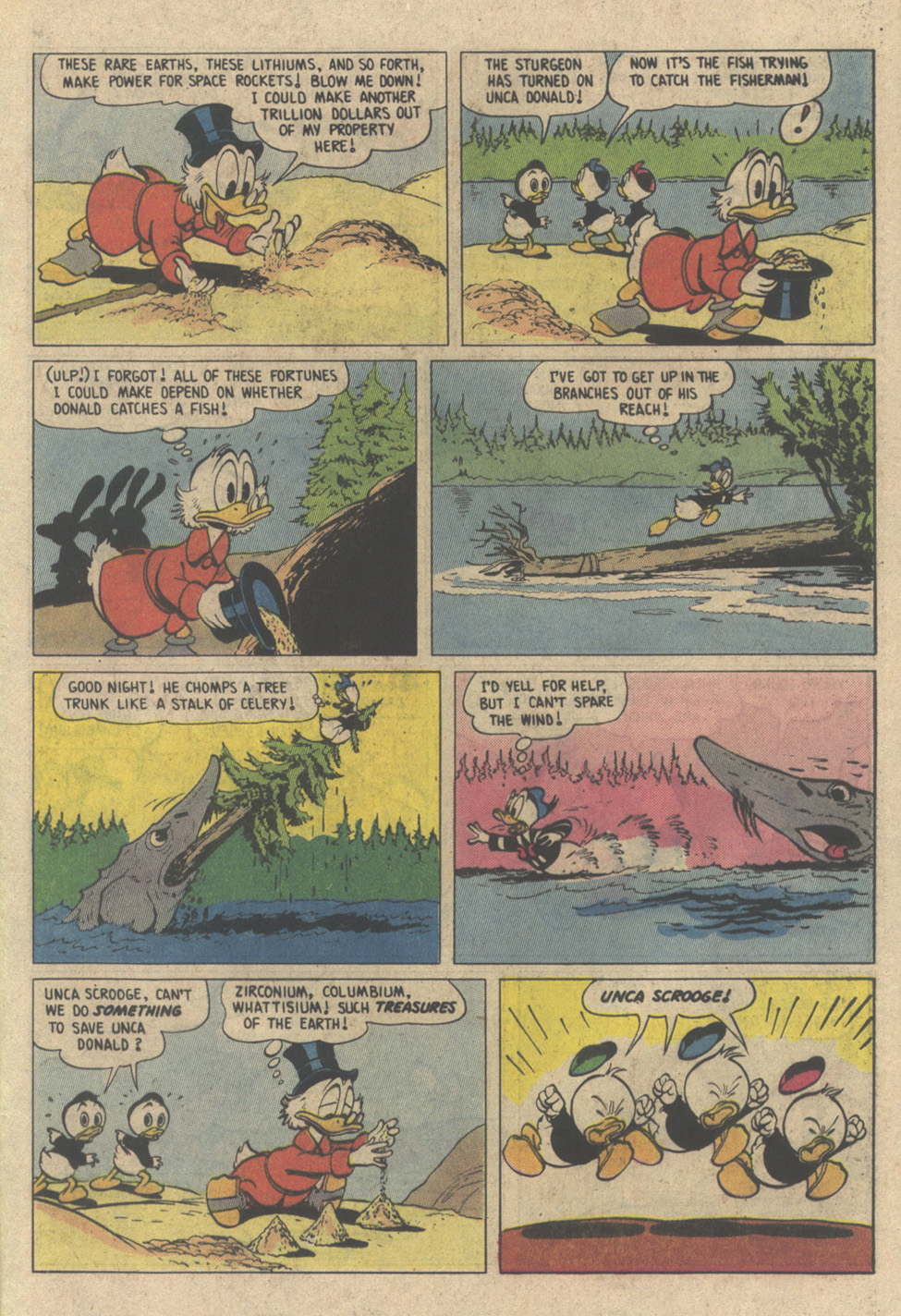 Read online Uncle Scrooge (1953) comic -  Issue #208 - 25