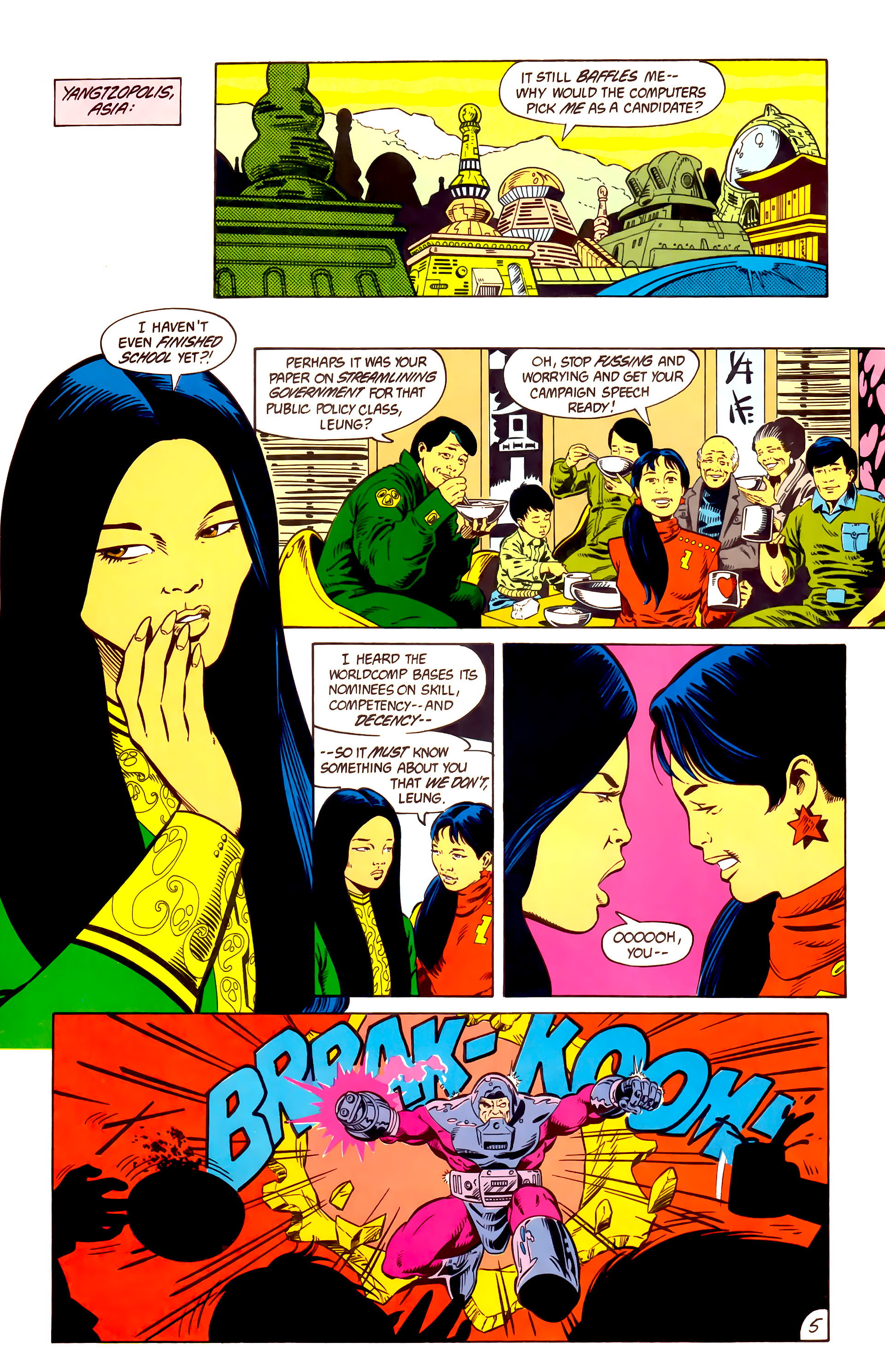 Legion of Super-Heroes (1984) 10 Page 6