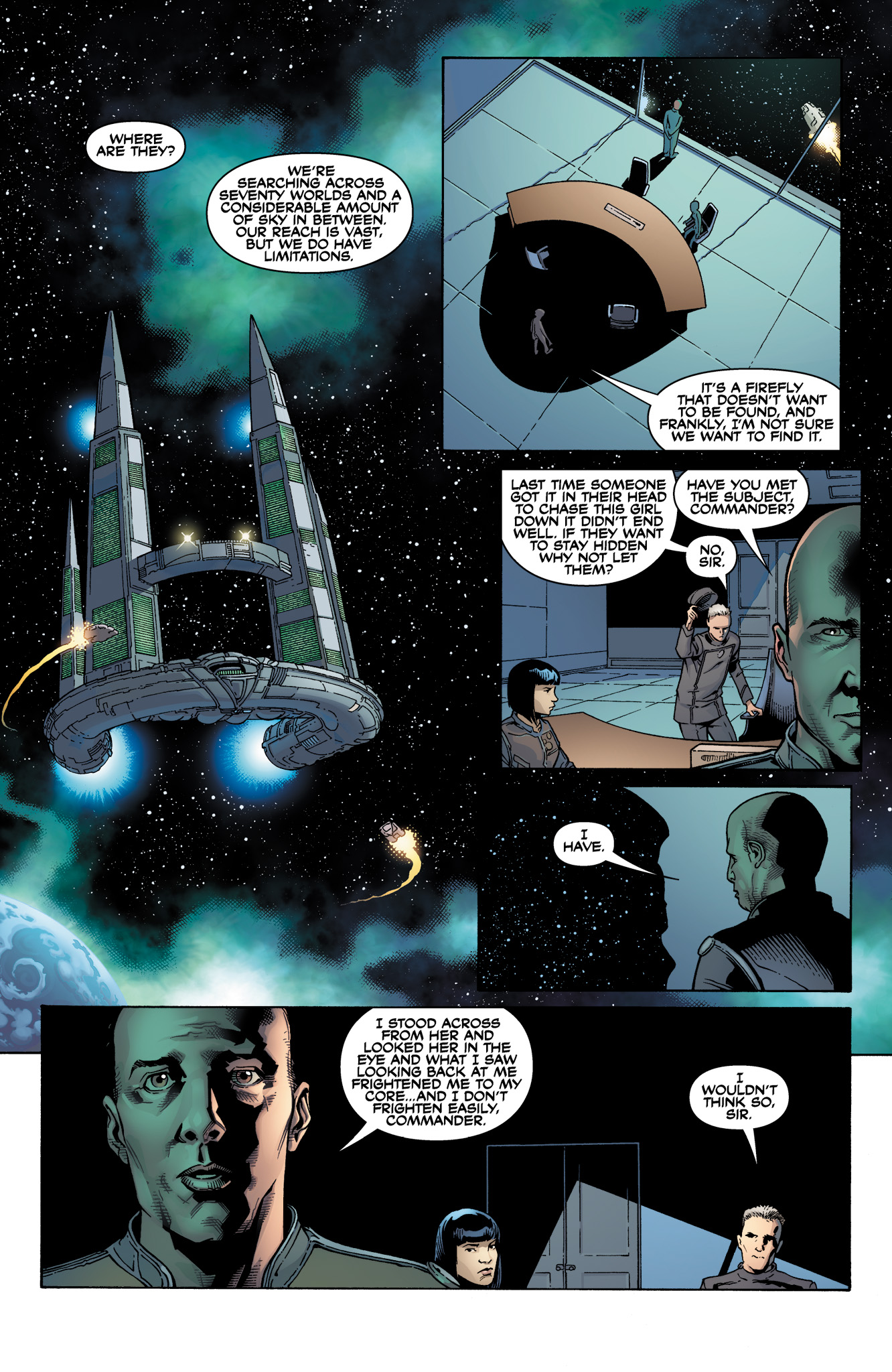 Read online Serenity: Firefly Class 03-K64  Leaves on the Wind comic -  Issue #1 - 5