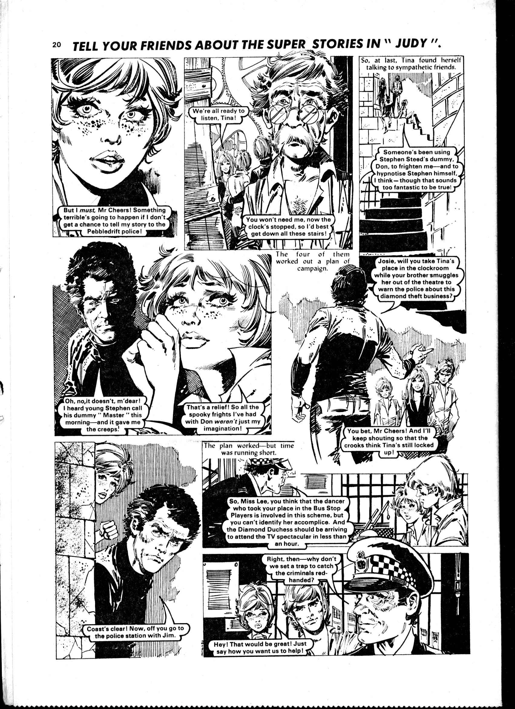 Read online Judy comic -  Issue #59 - 20