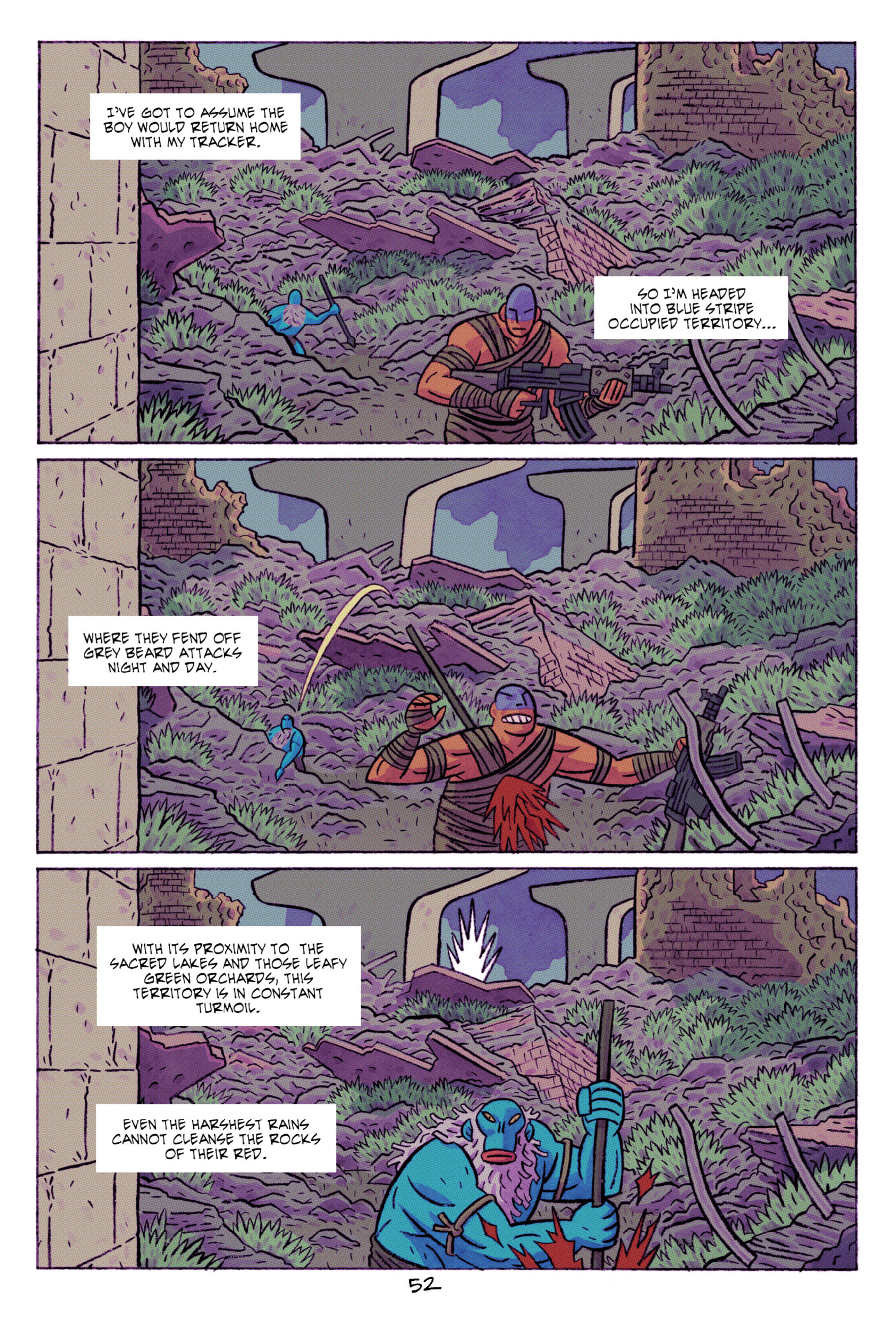 Read online ApocalyptiGirl: An Aria for the End Times comic -  Issue #ApocalyptiGirl: An Aria for the End Times Full - 60