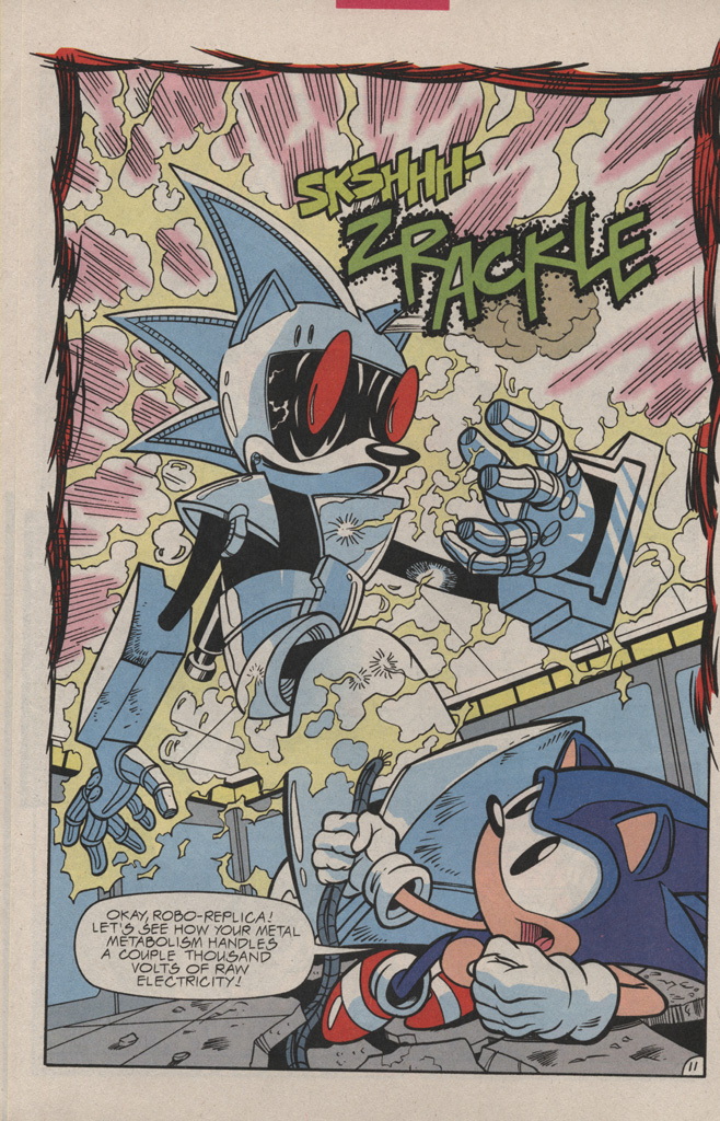 Read online Sonic Quest - The Death Egg Saga comic -  Issue #3 - 16