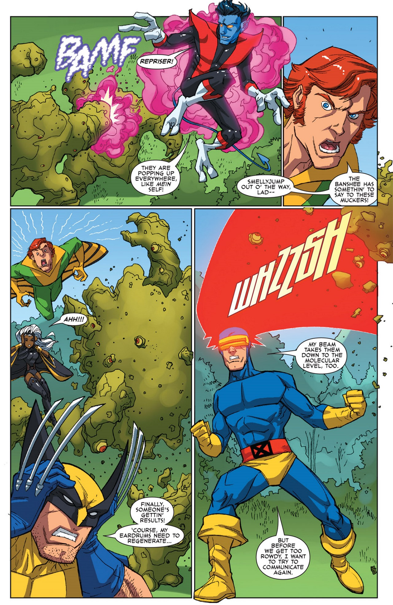 Read online Uncanny X-Men: First Class Giant-Size Special comic -  Issue # Full - 12