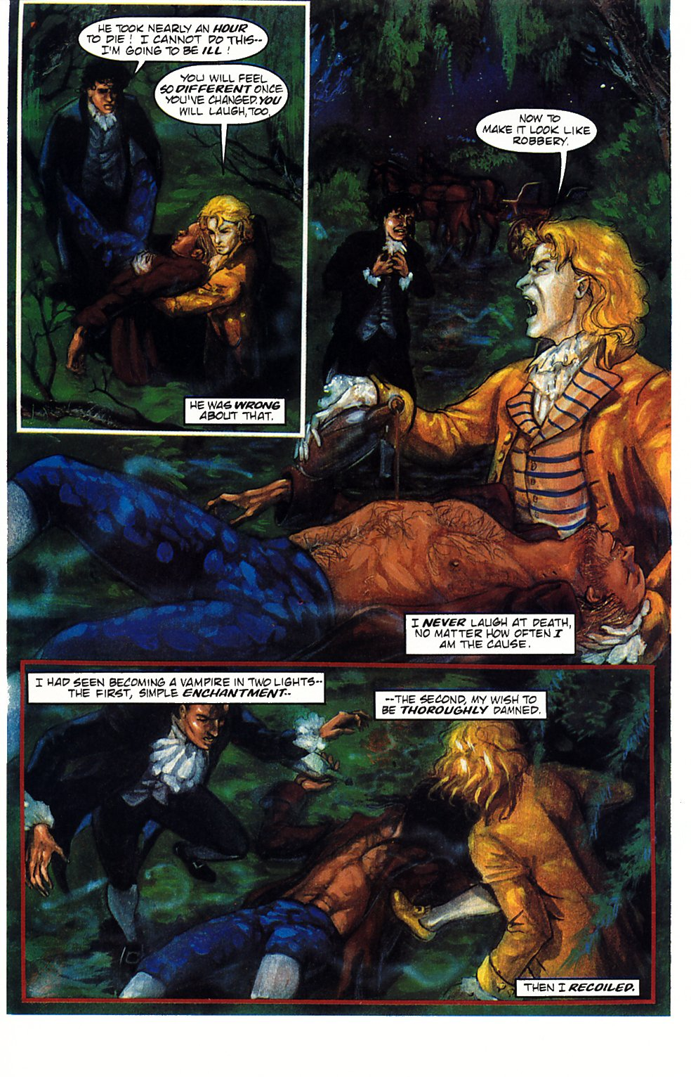 Read online Anne Rice's Interview with the Vampire comic -  Issue #1 - 17