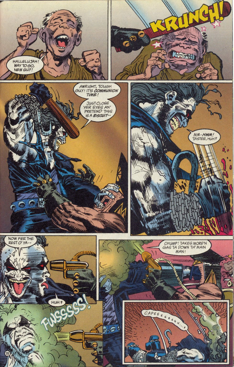Read online Lobo: A Contract on Gawd comic -  Issue #1 - 16