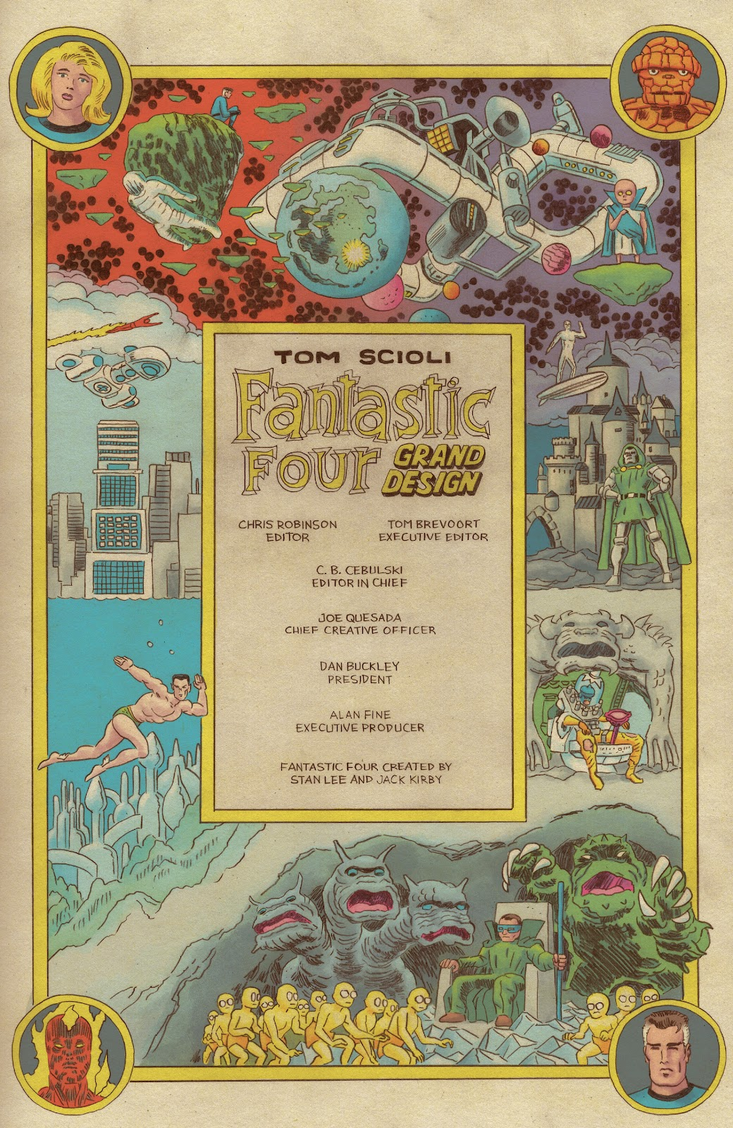 Read online Fantastic Four: Grand Design comic -  Issue #1 - 2