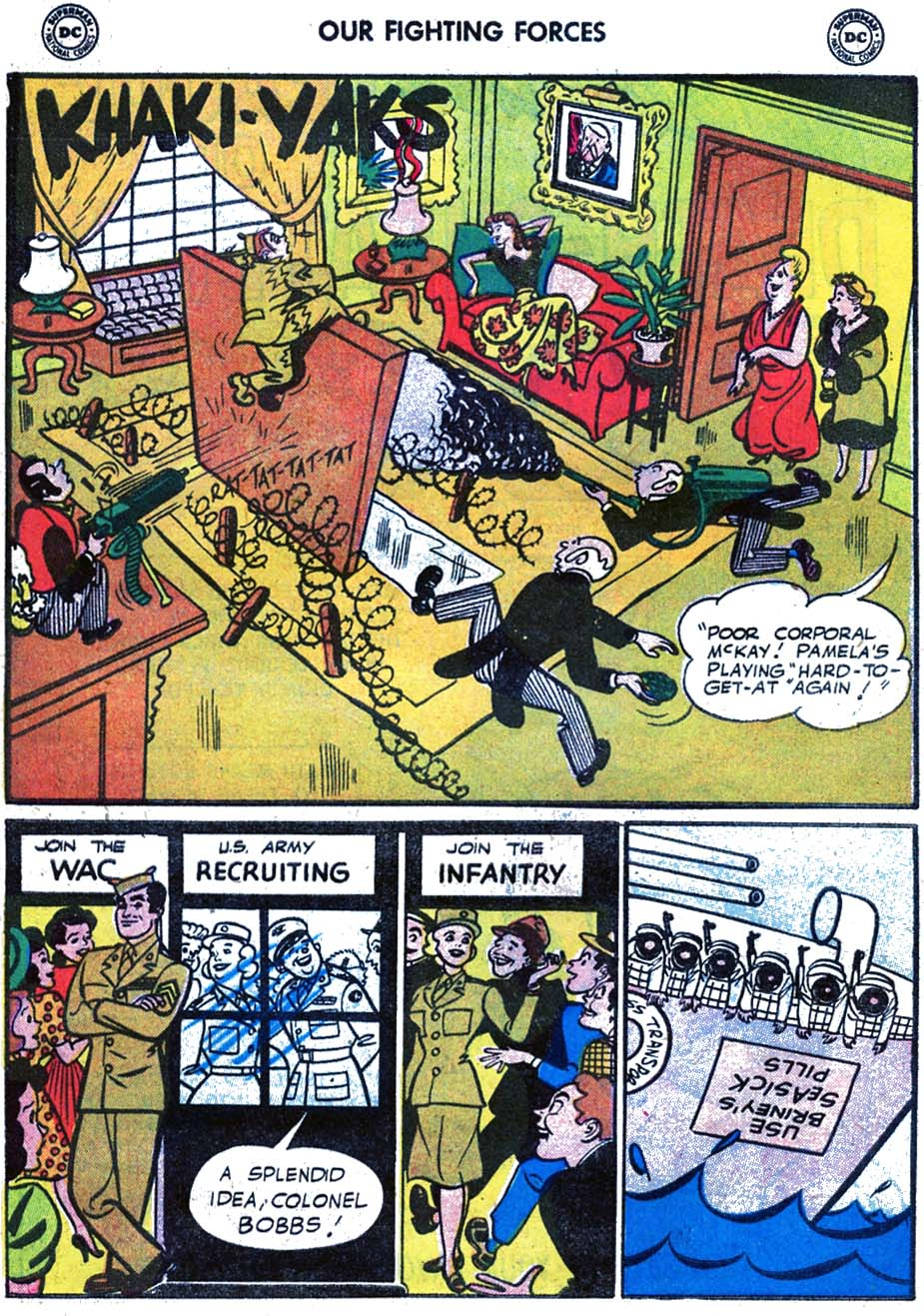 Our Fighting Forces (1954) issue 17 - Page 10