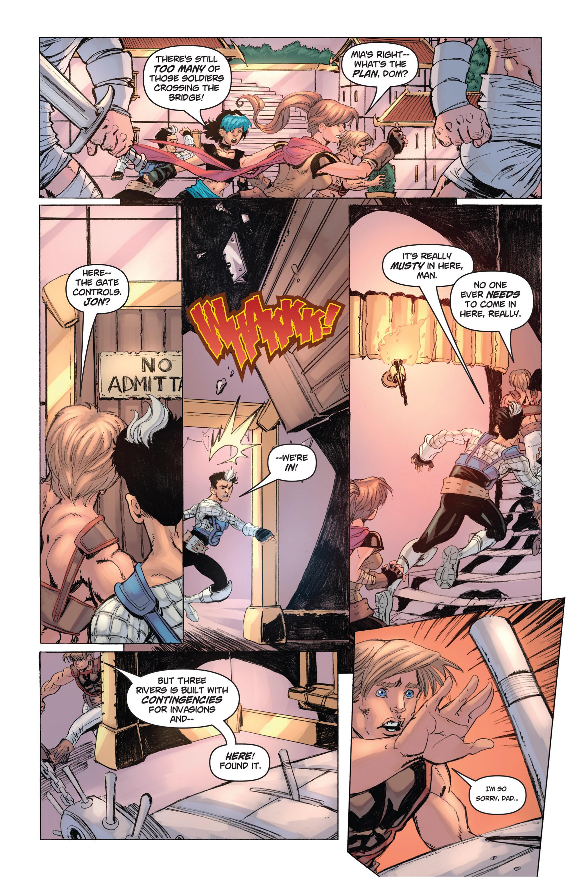 Read online Skyward comic -  Issue #9 - 17