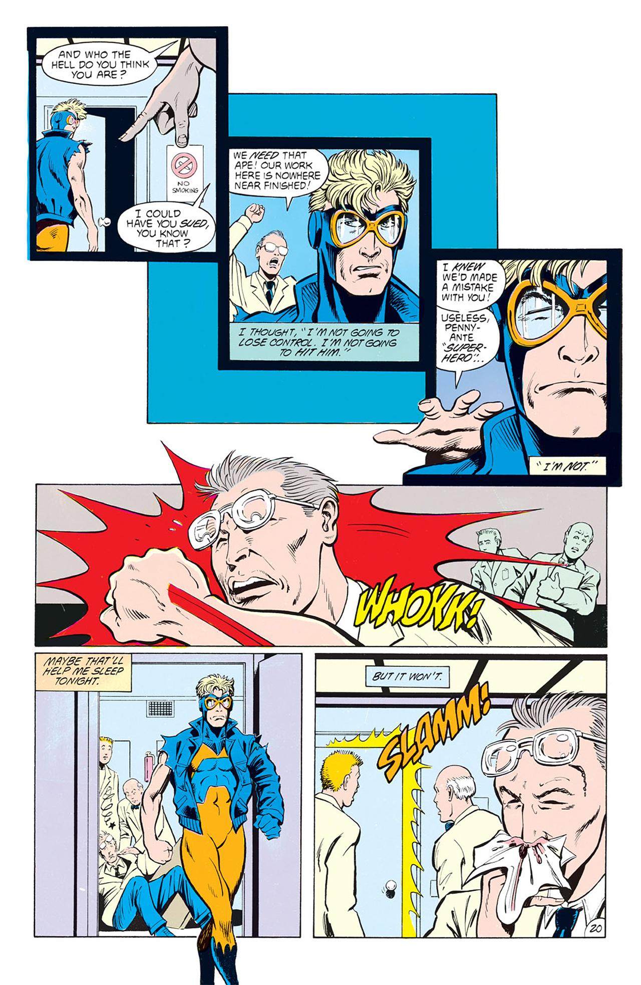 Read online Animal Man (1988) comic -  Issue #4 - 22