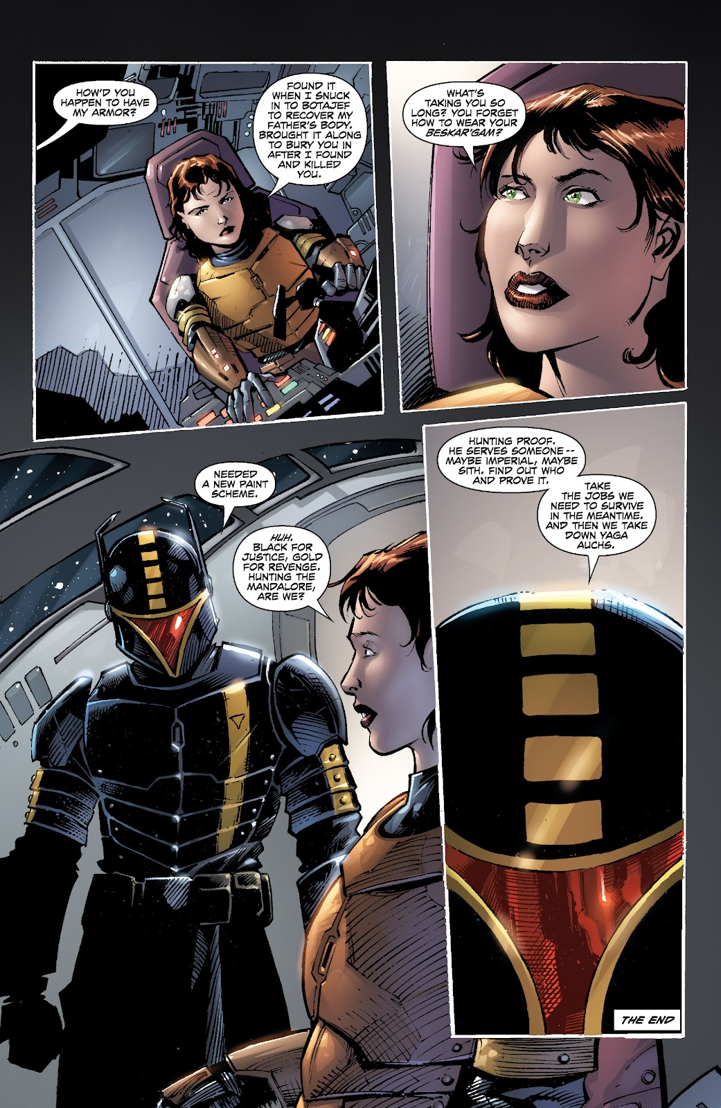 Read online Star Wars Legends: Legacy - Epic Collection comic -  Issue # TPB 2 (Part 5) - 35