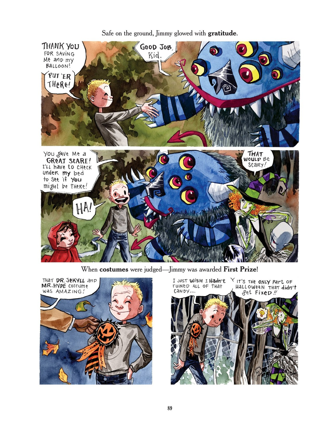 Read online Scary Godmother comic -  Issue # TPB - 89