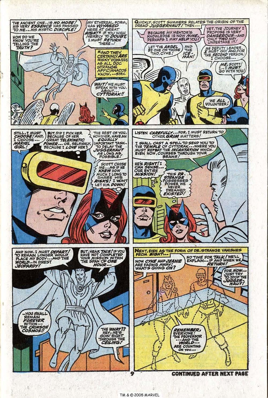 Read online Uncanny X-Men (1963) comic -  Issue #81 - 11