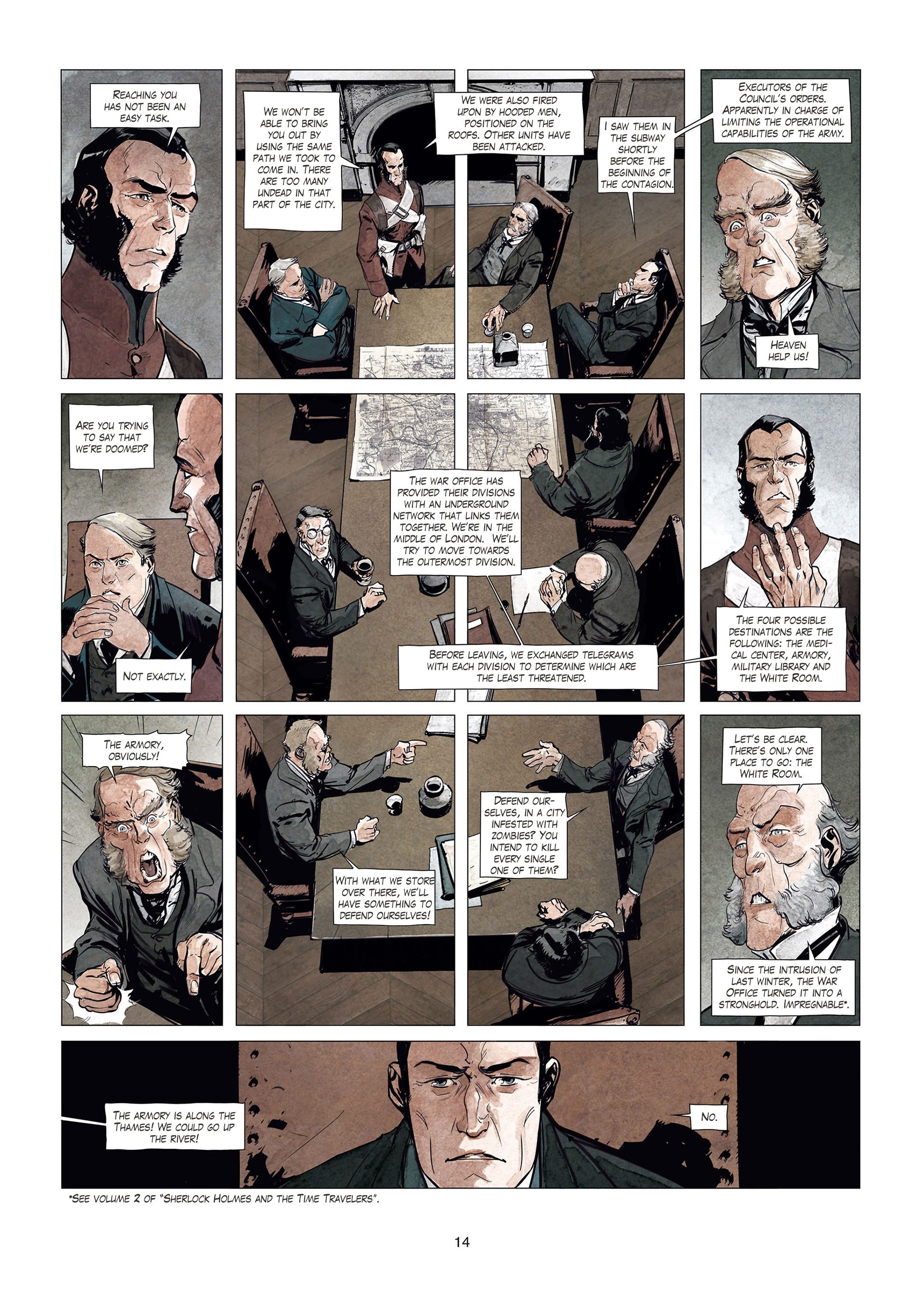 Read online Sherlock Holmes Society Tome 4 : Contamination comic -  Issue # Full - 14
