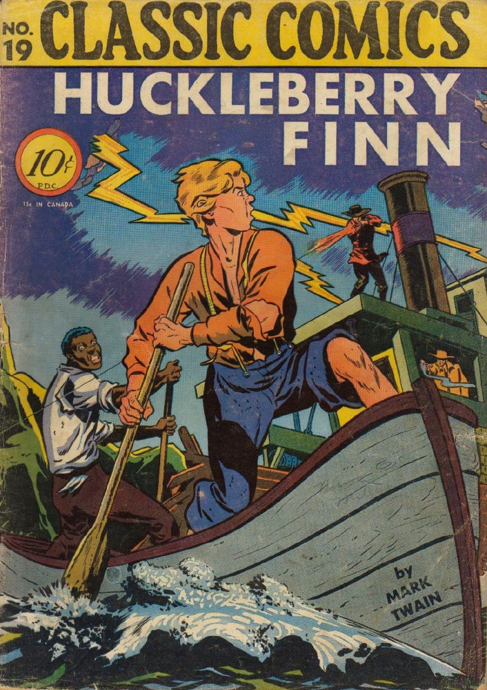Classics Illustrated 19 Page 1