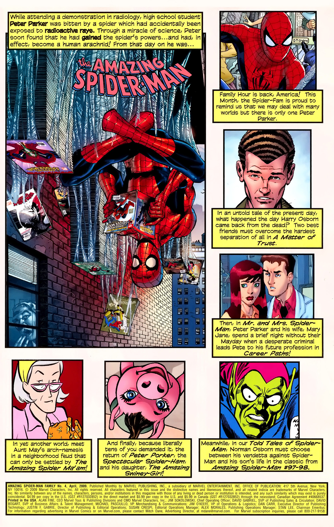 Read online Amazing Spider-Man Family comic -  Issue #4 - 2