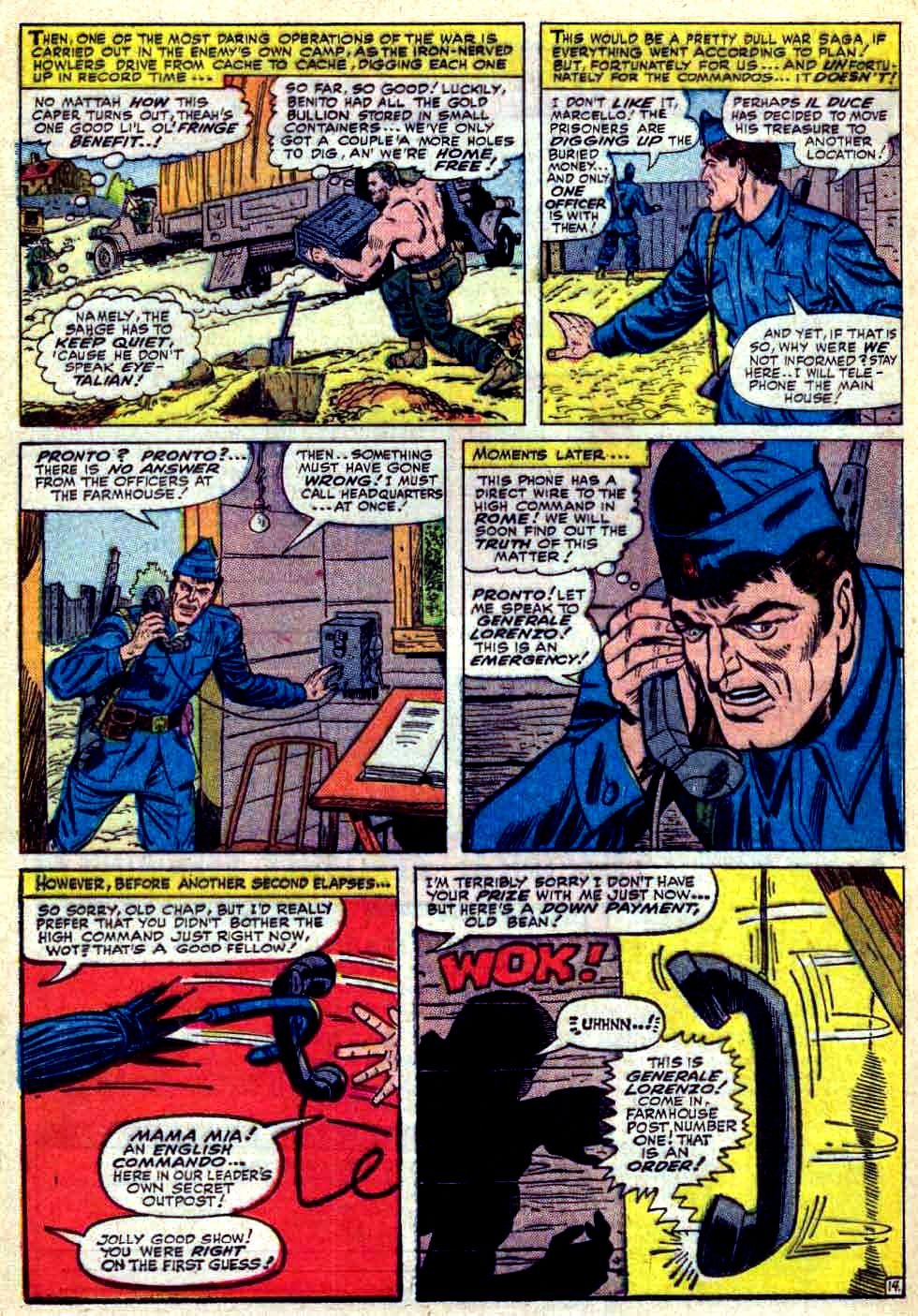 Read online Sgt. Fury comic -  Issue #30 - 20
