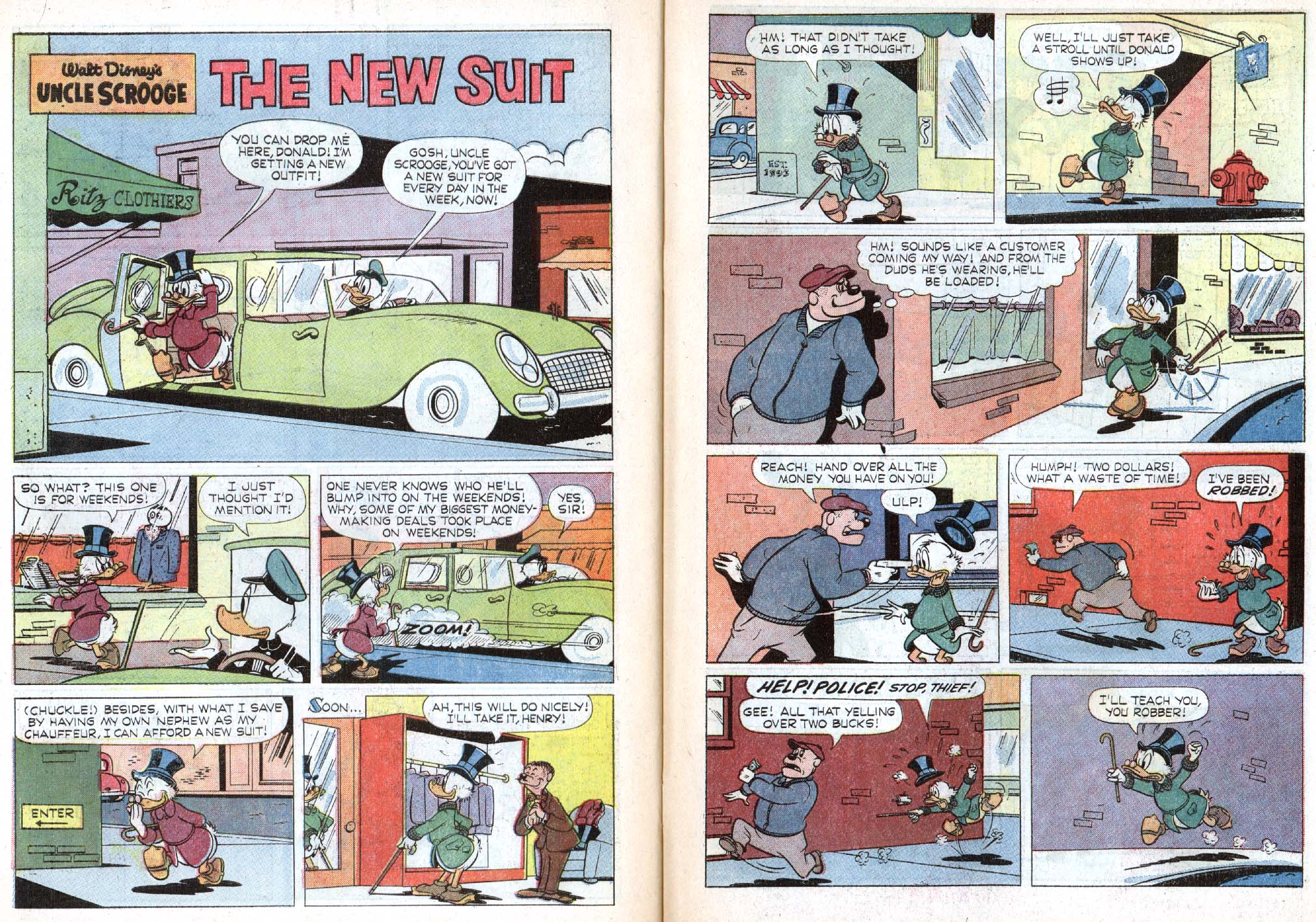 Read online Uncle Scrooge (1953) comic -  Issue #48 - 16