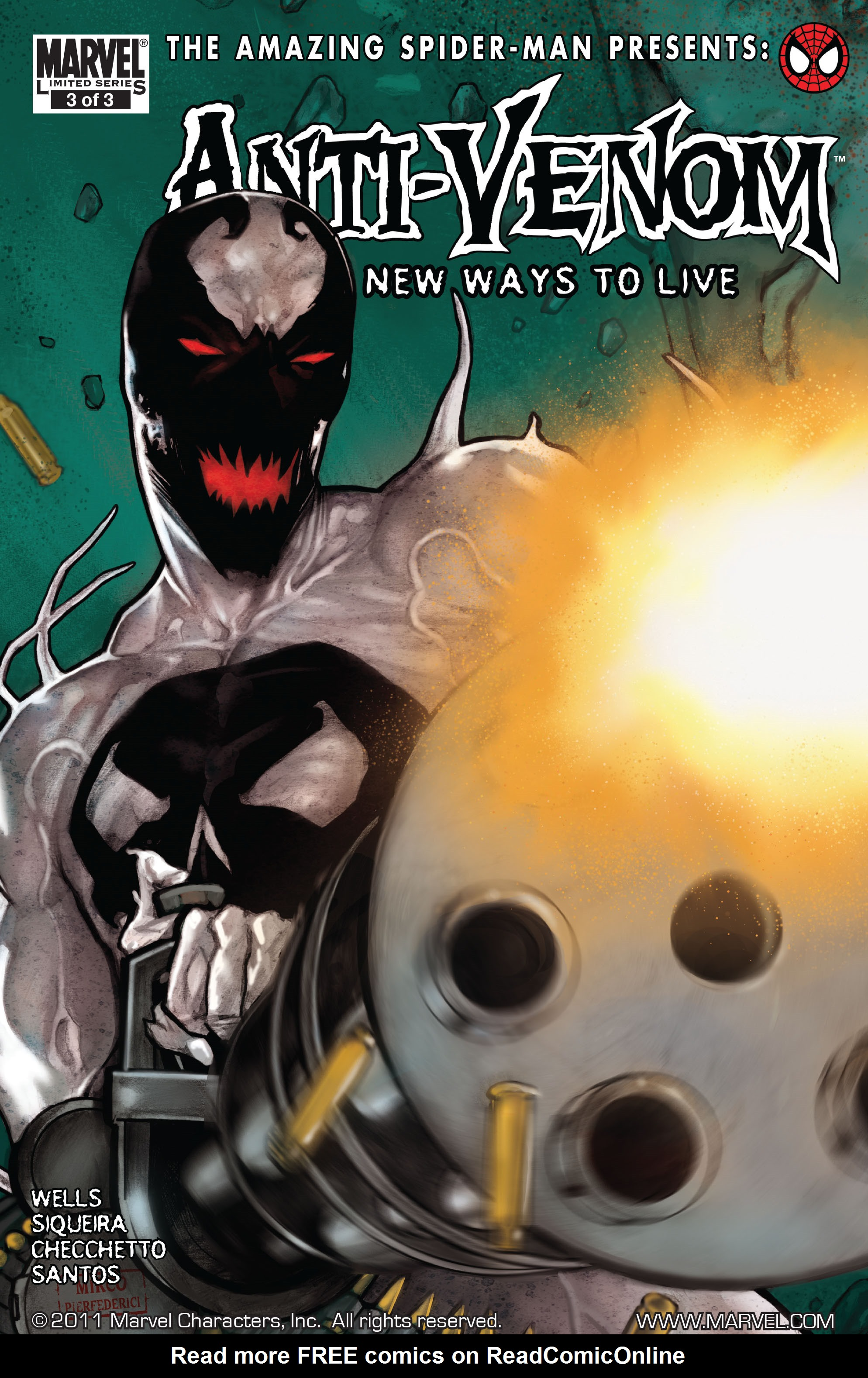 Read online Amazing Spider-Man Presents: Anti-Venom - New Ways To Live comic -  Issue # _TPB - 49