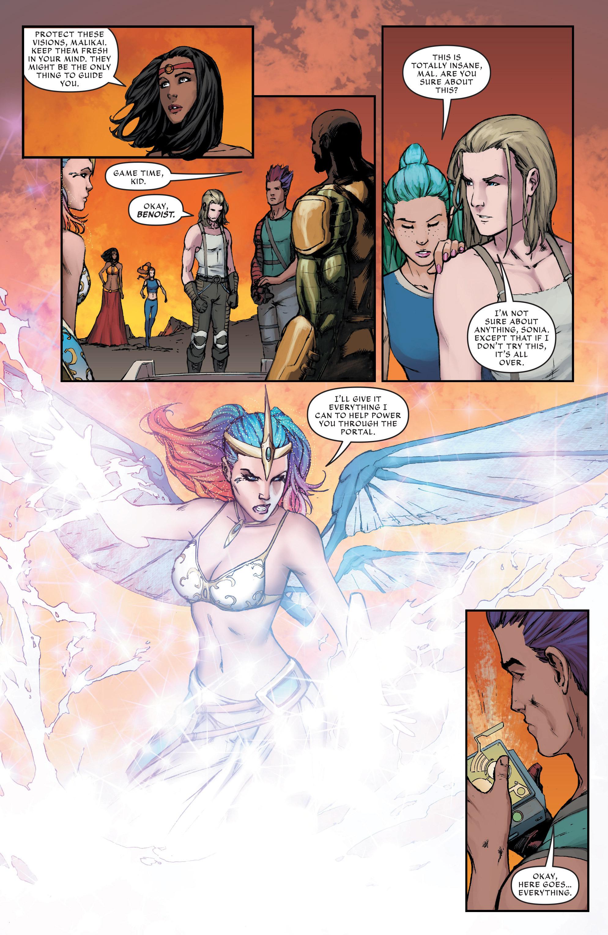 Read online Aspen Universe: Revelations comic -  Issue #1 - 10