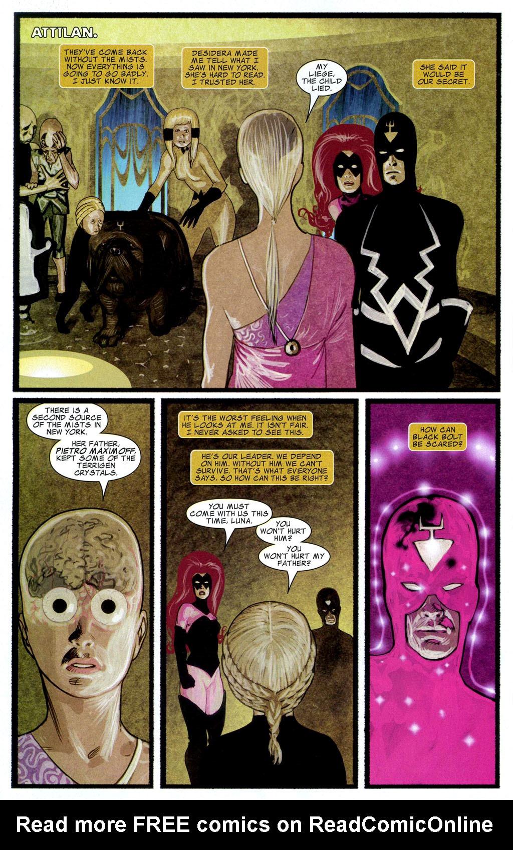 Read online Silent War comic -  Issue #2 - 22