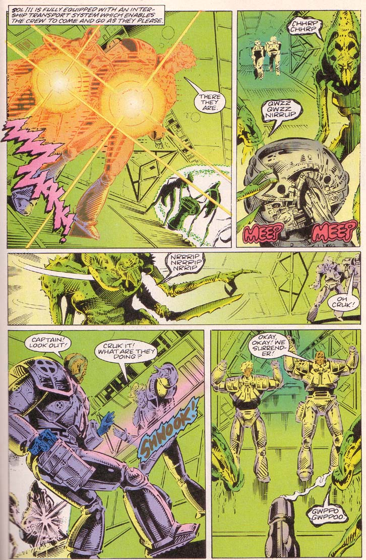 Read online Cyberspace 3000 comic -  Issue #2 - 12