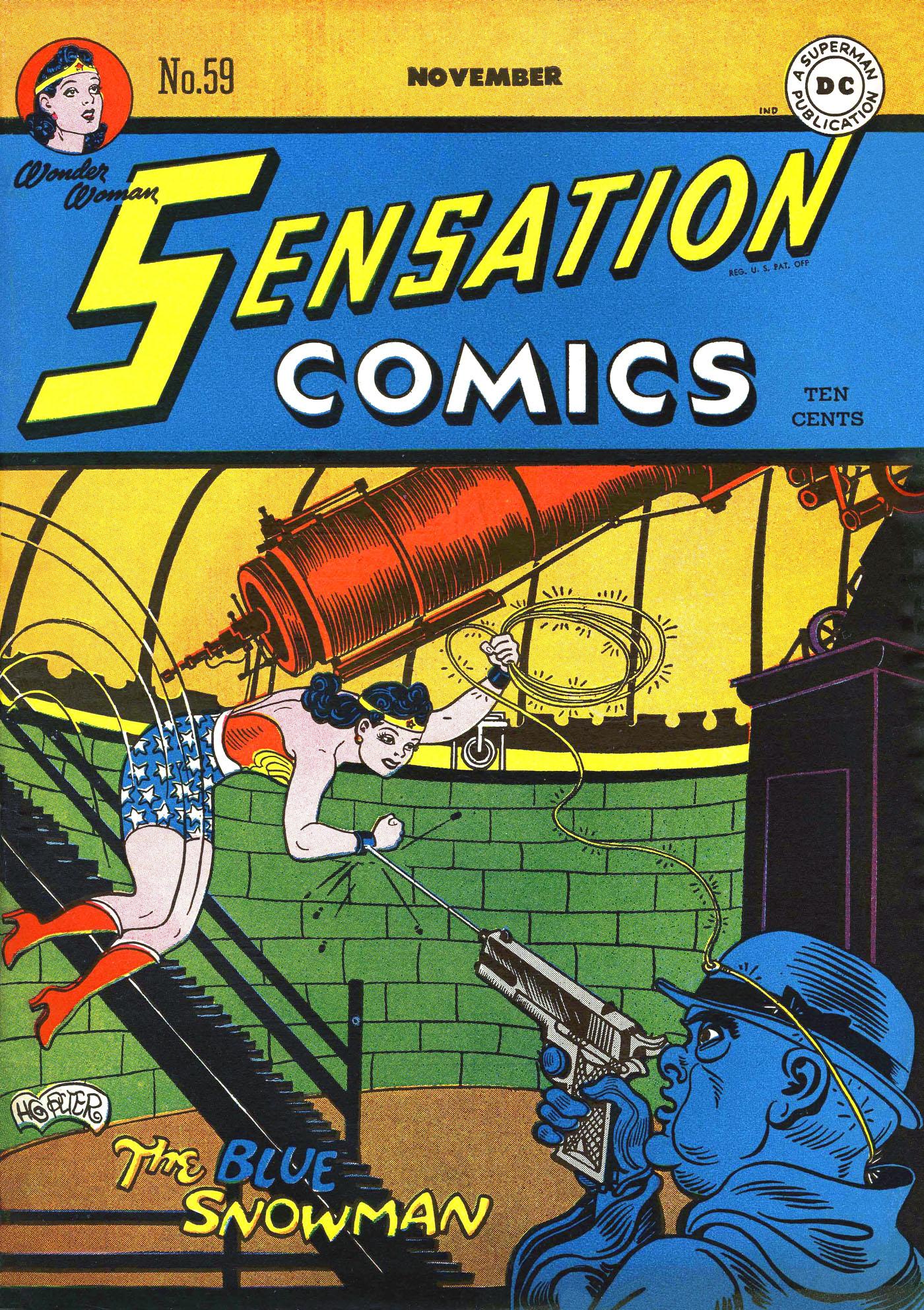 Read online Sensation (Mystery) Comics comic -  Issue #59 - 1