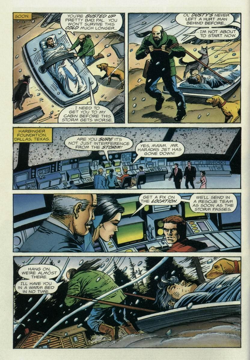 Read online Harbinger Files comic -  Issue #1 - 5