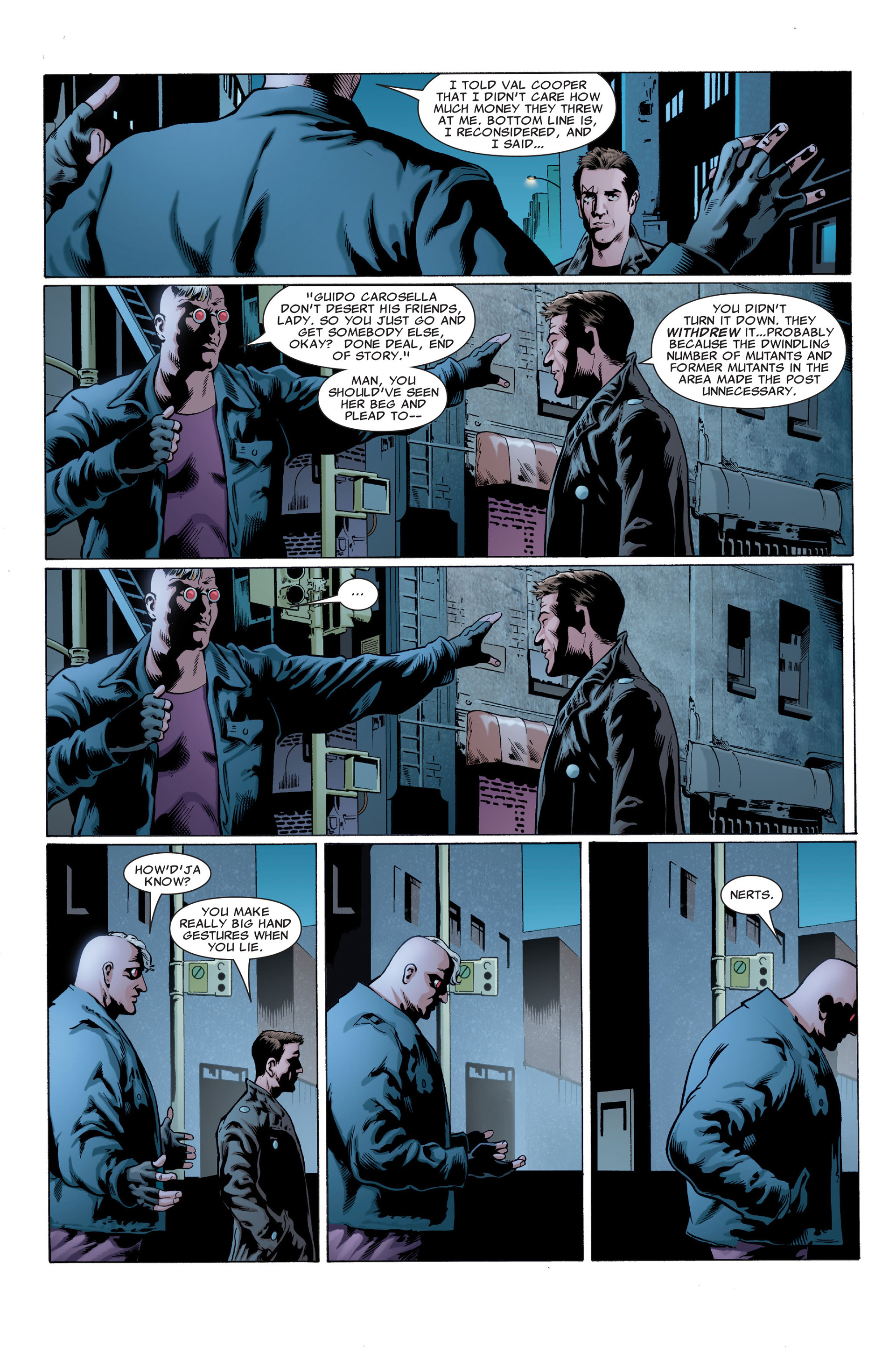 Read online X-Factor (2006) comic -  Issue #29 - 5