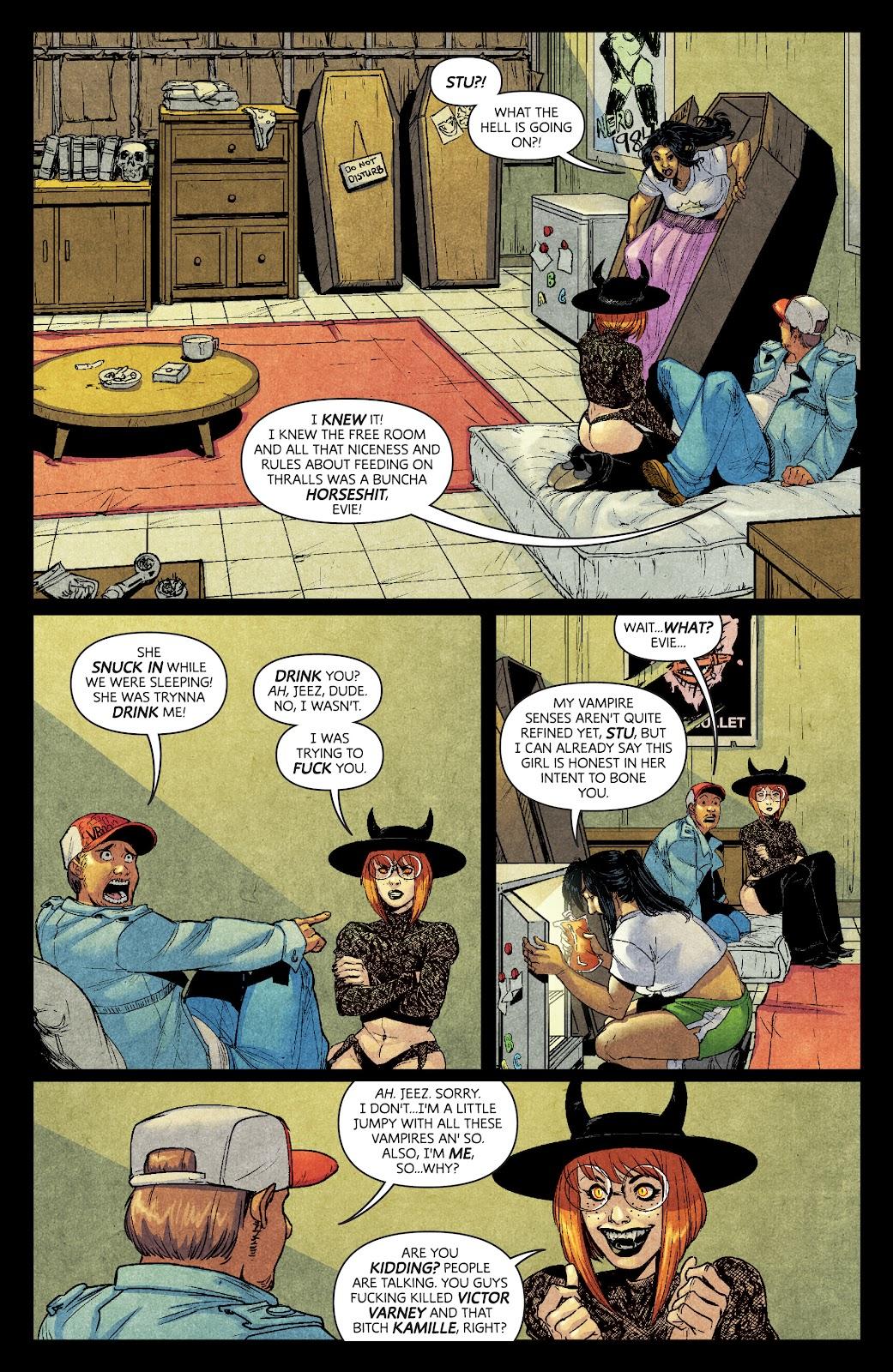 Read online Dark Red comic -  Issue #7 - 4