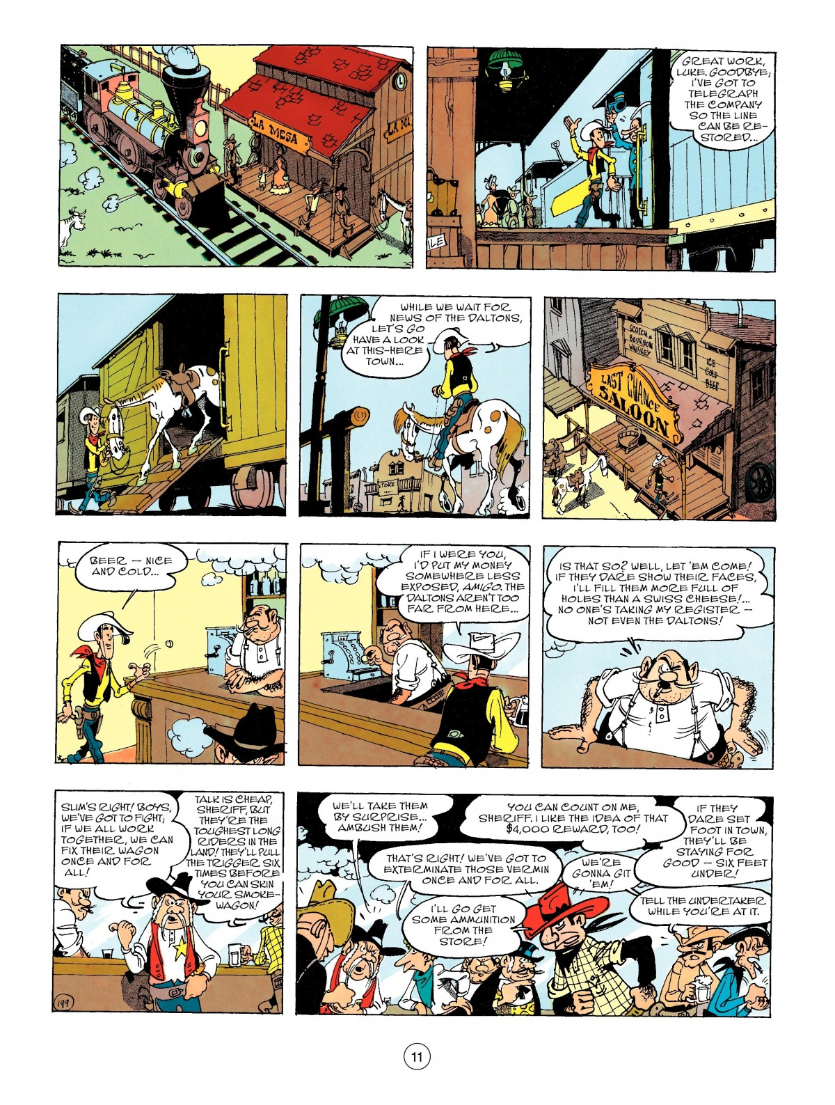 Read online A Lucky Luke Adventure comic -  Issue #47 - 11