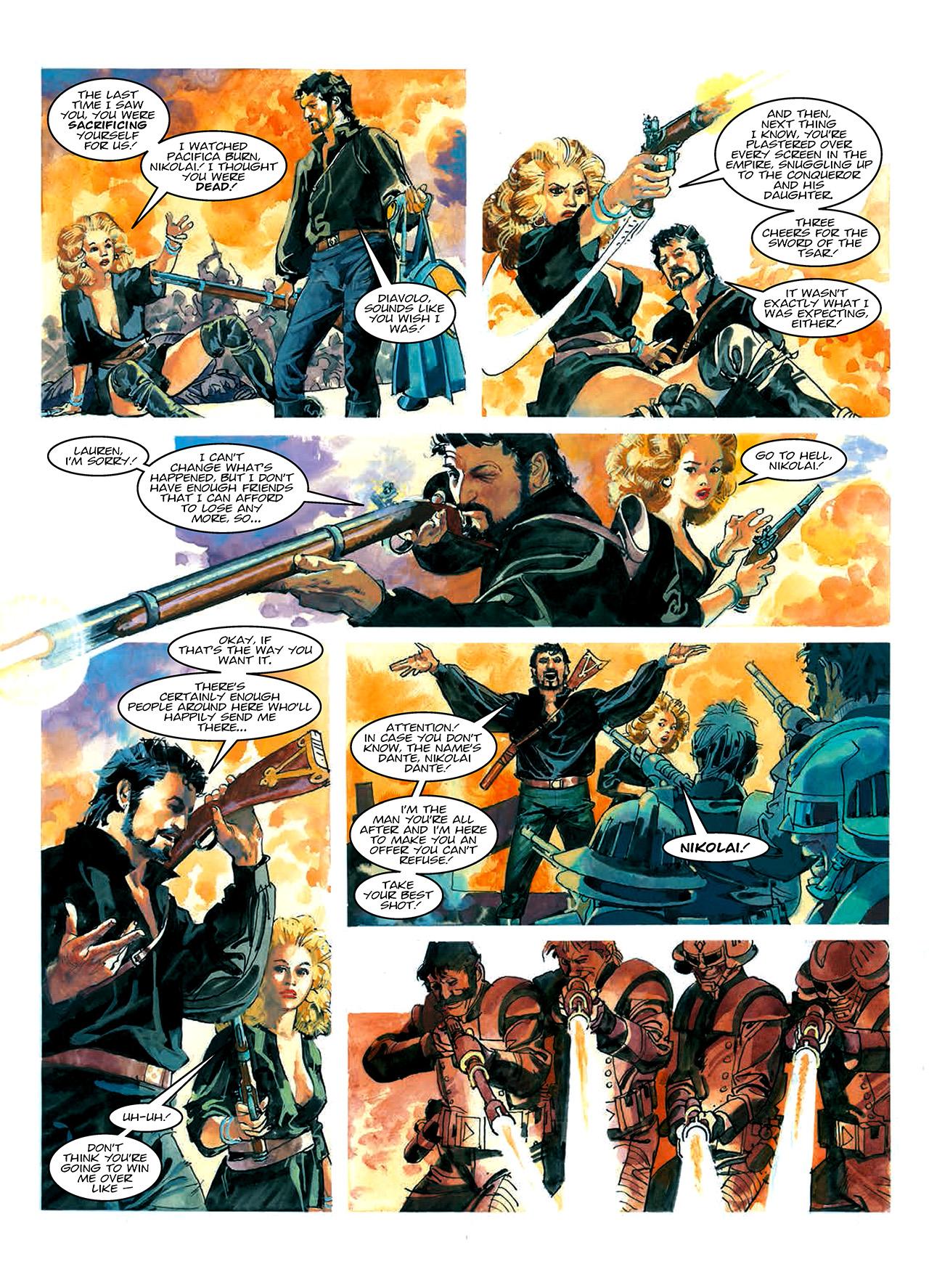 Read online Nikolai Dante comic -  Issue # TPB 10 - 24