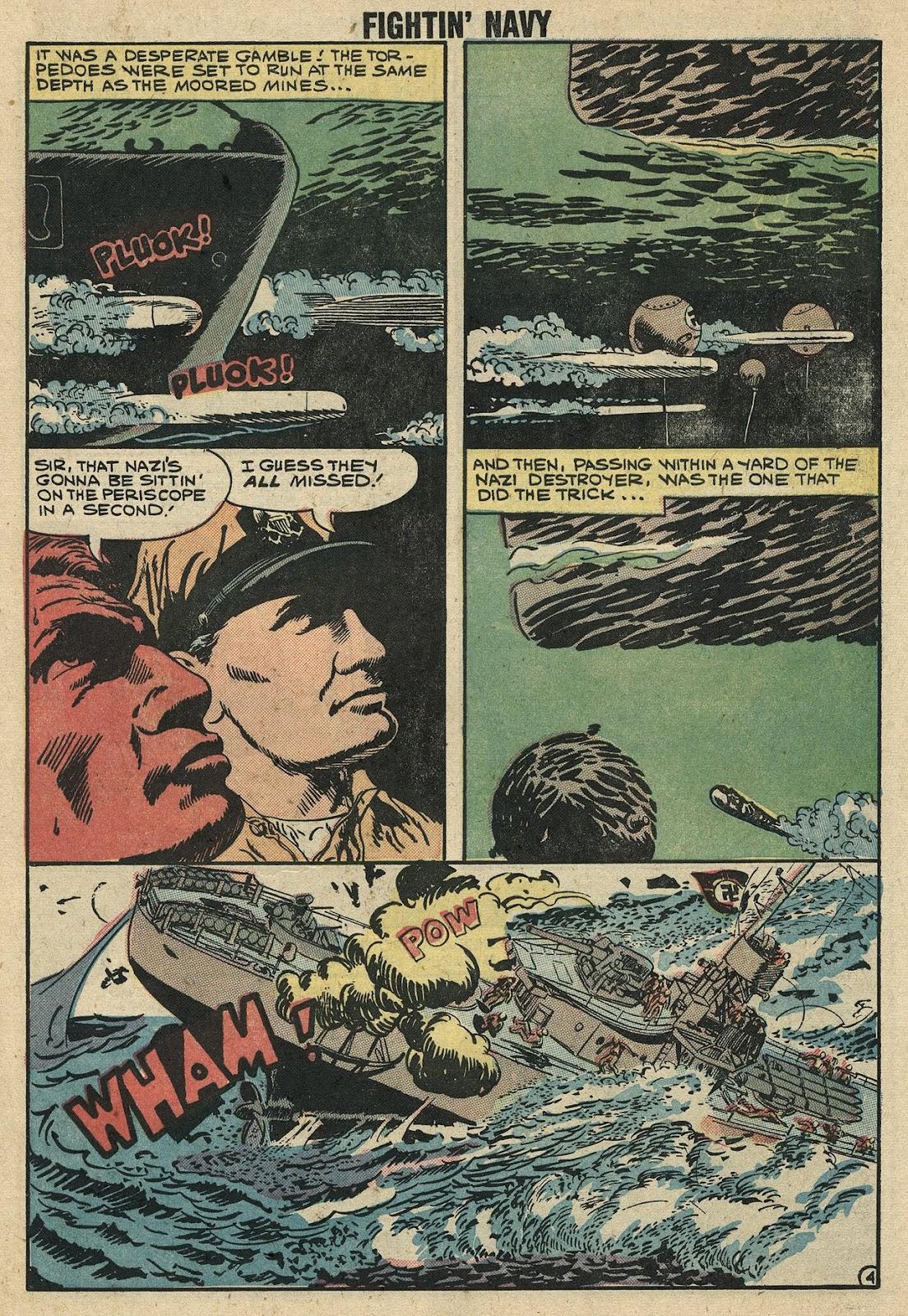 Read online Fightin' Navy comic -  Issue #86 - 7