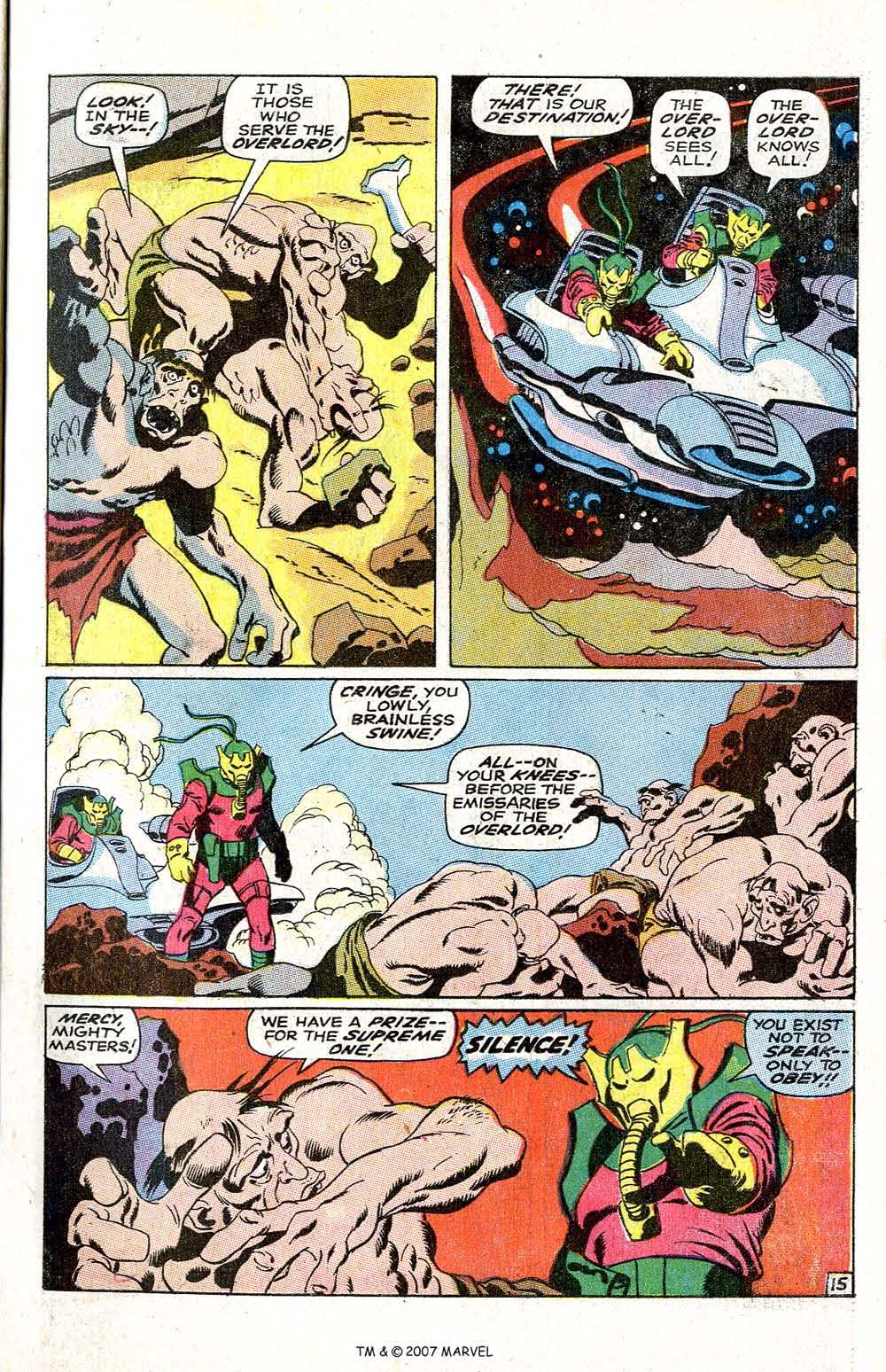 Read online Silver Surfer (1968) comic -  Issue #6 - 19