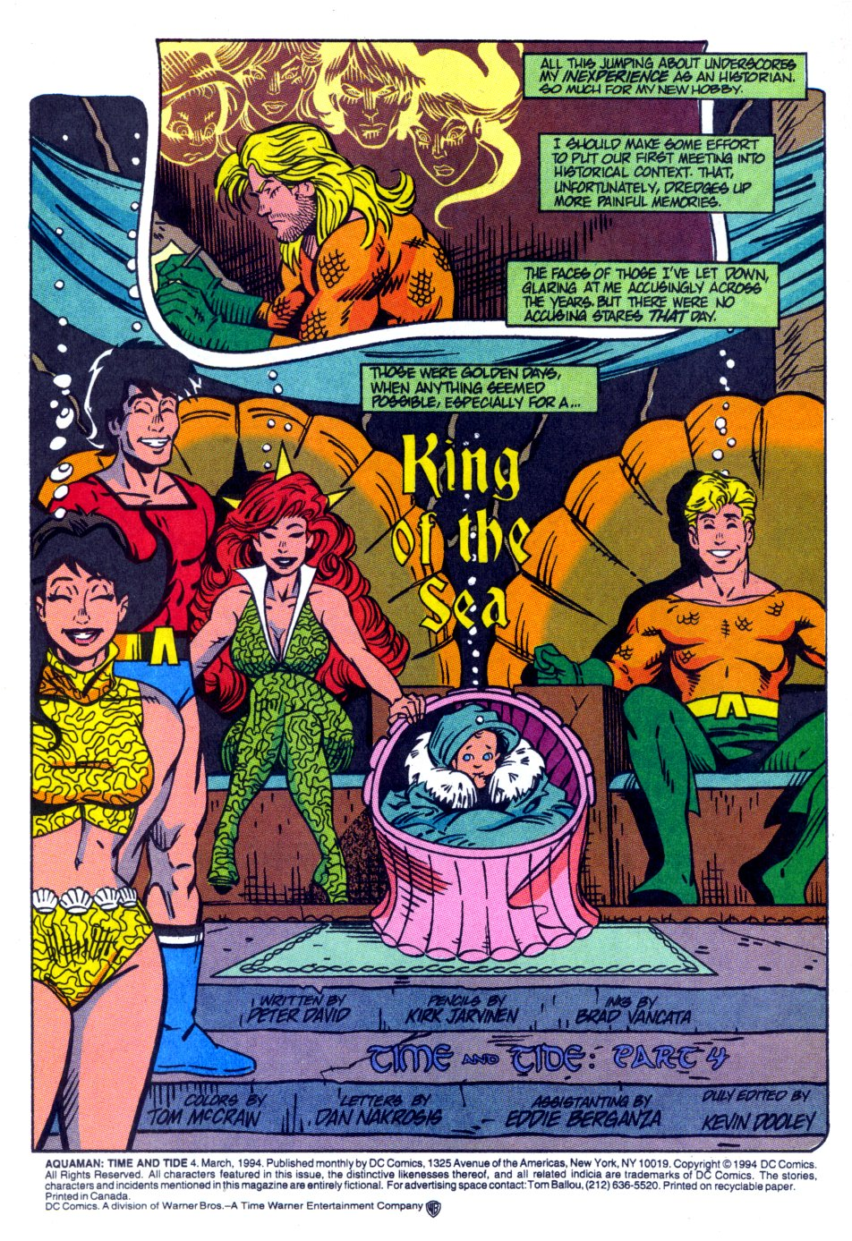 Read online Aquaman: Time and Tide comic -  Issue #4 - 5