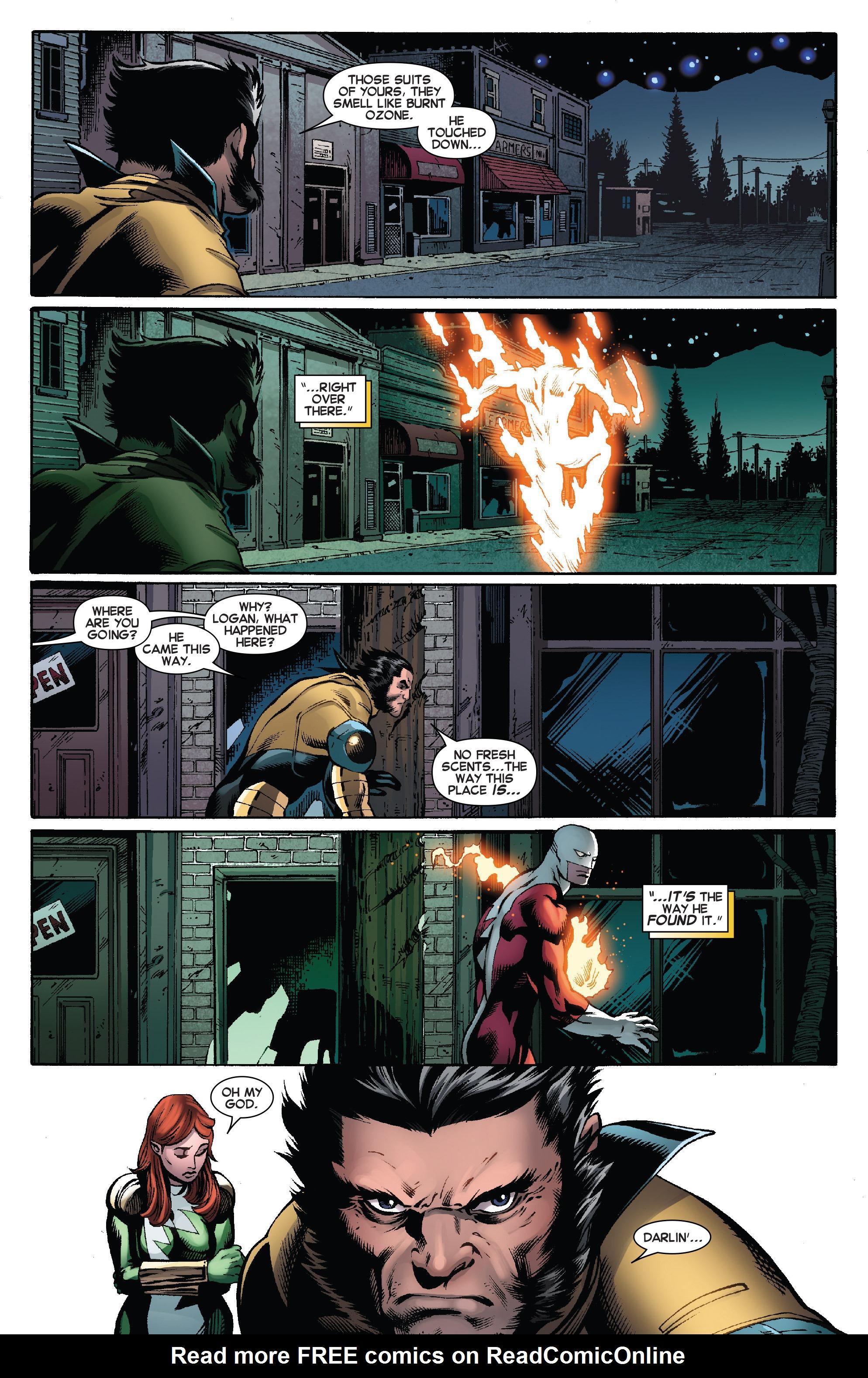 Read online Amazing X-Men (2014) comic -  Issue #8 - 12