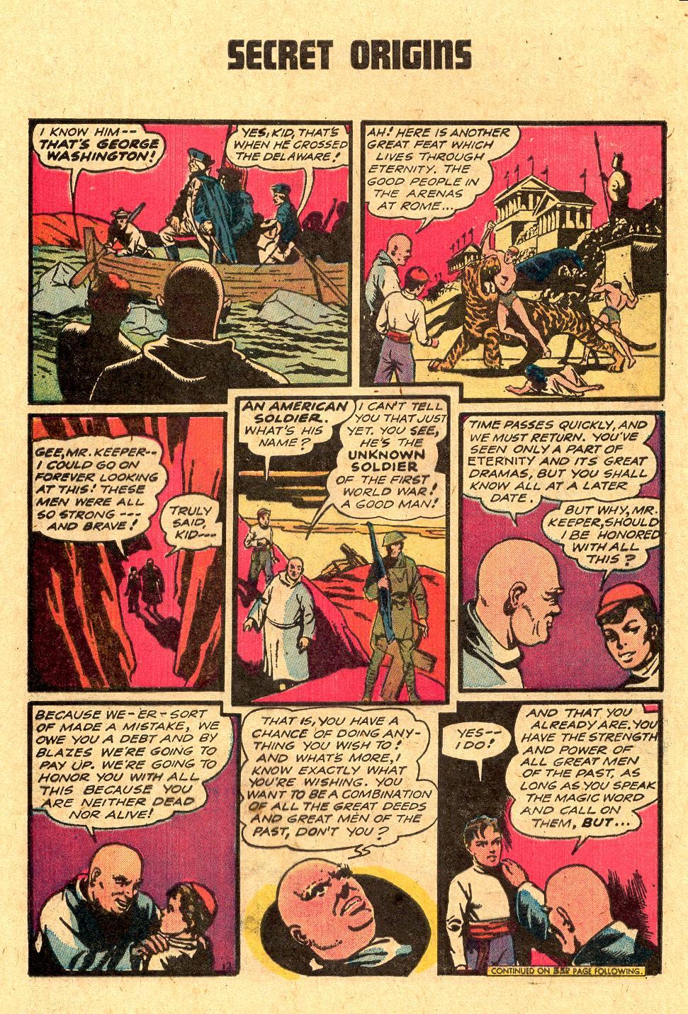 Read online Secret Origins (1973) comic -  Issue #4 - 28