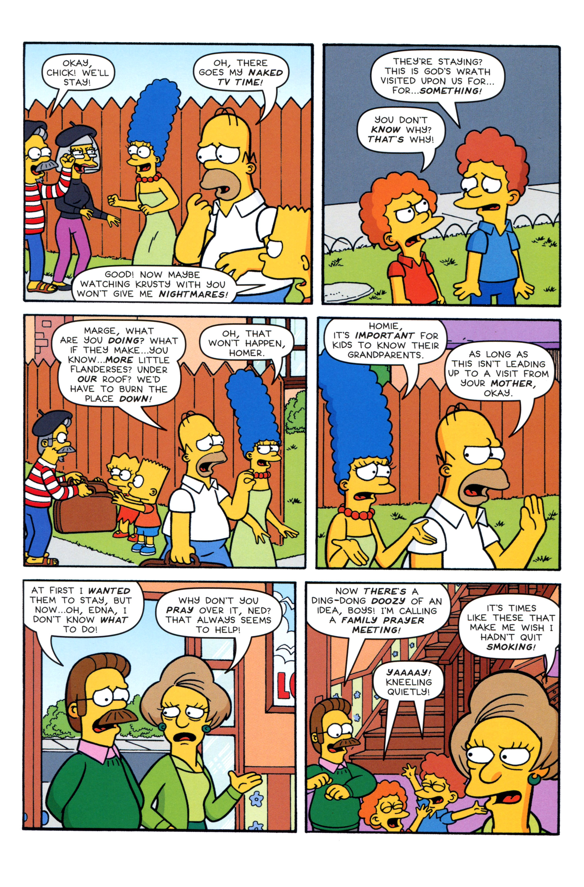 Read online Simpsons Comics comic -  Issue #204 - 7