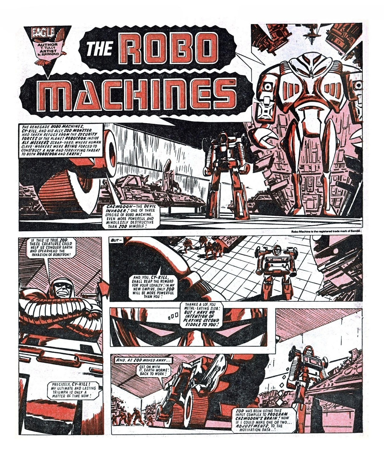 Read online Robo Machines comic -  Issue # TPB - 88