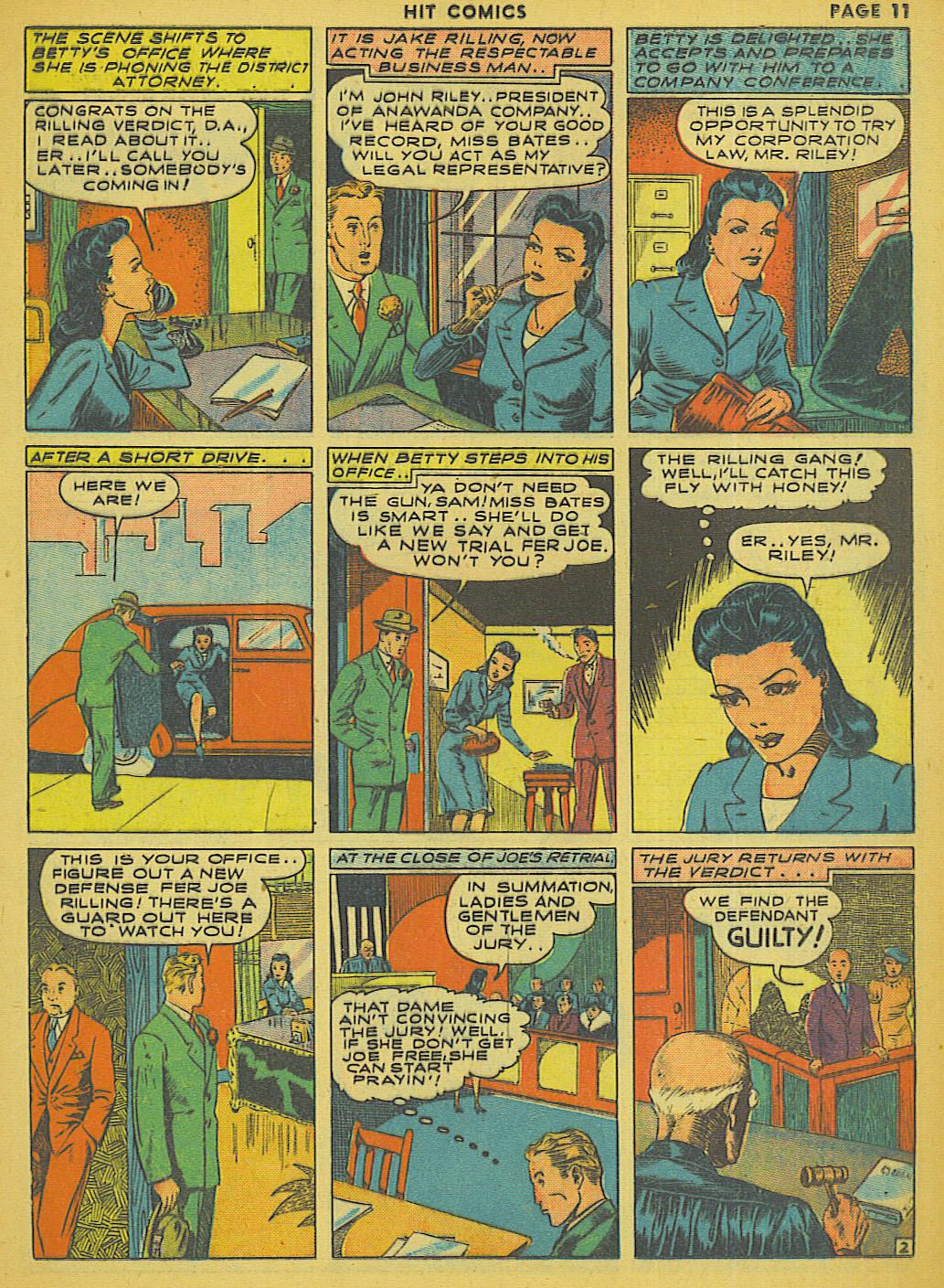 Read online Hit Comics comic -  Issue #13 - 13