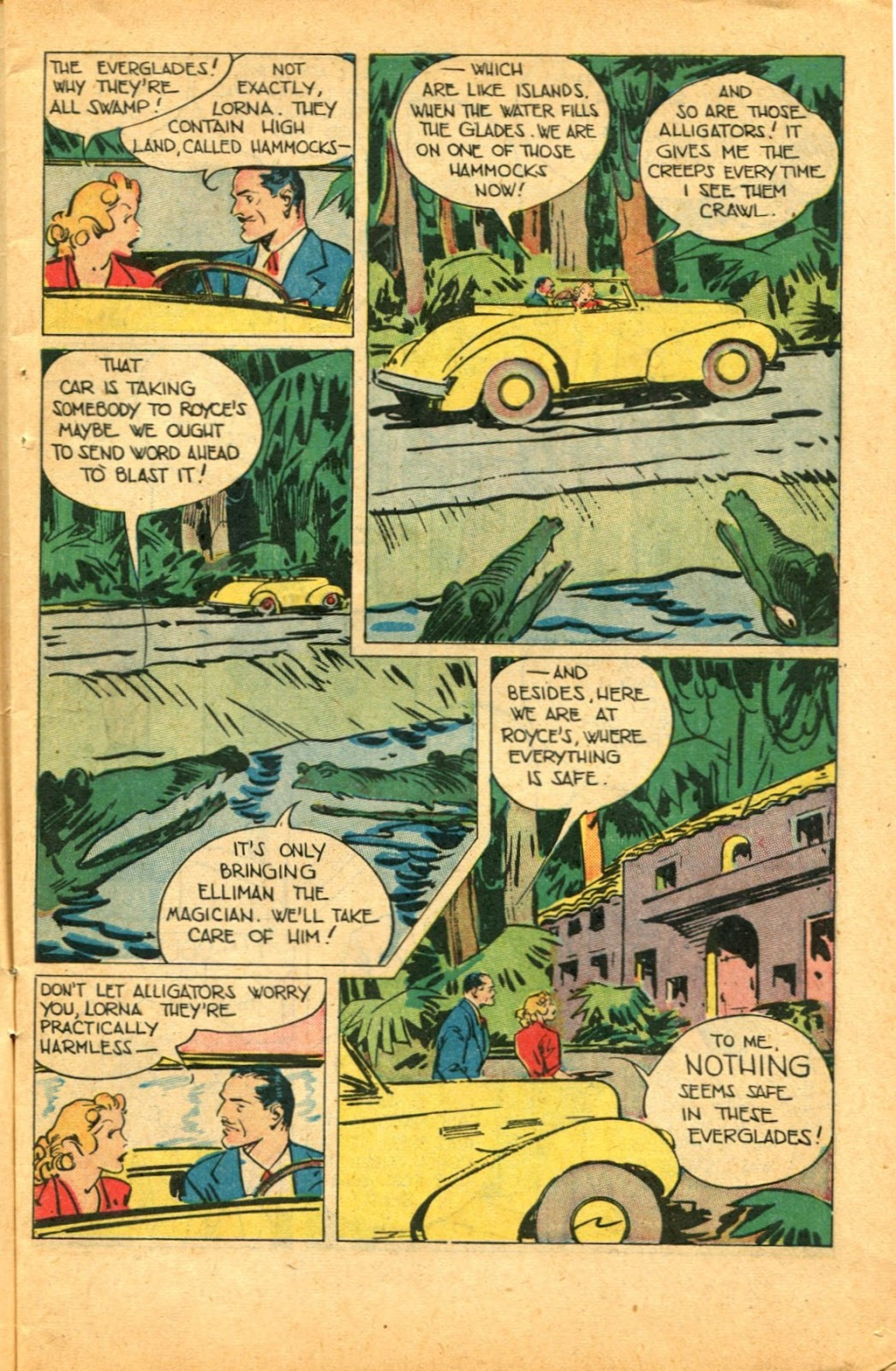 Read online Super-Magician Comics comic -  Issue #49 - 5