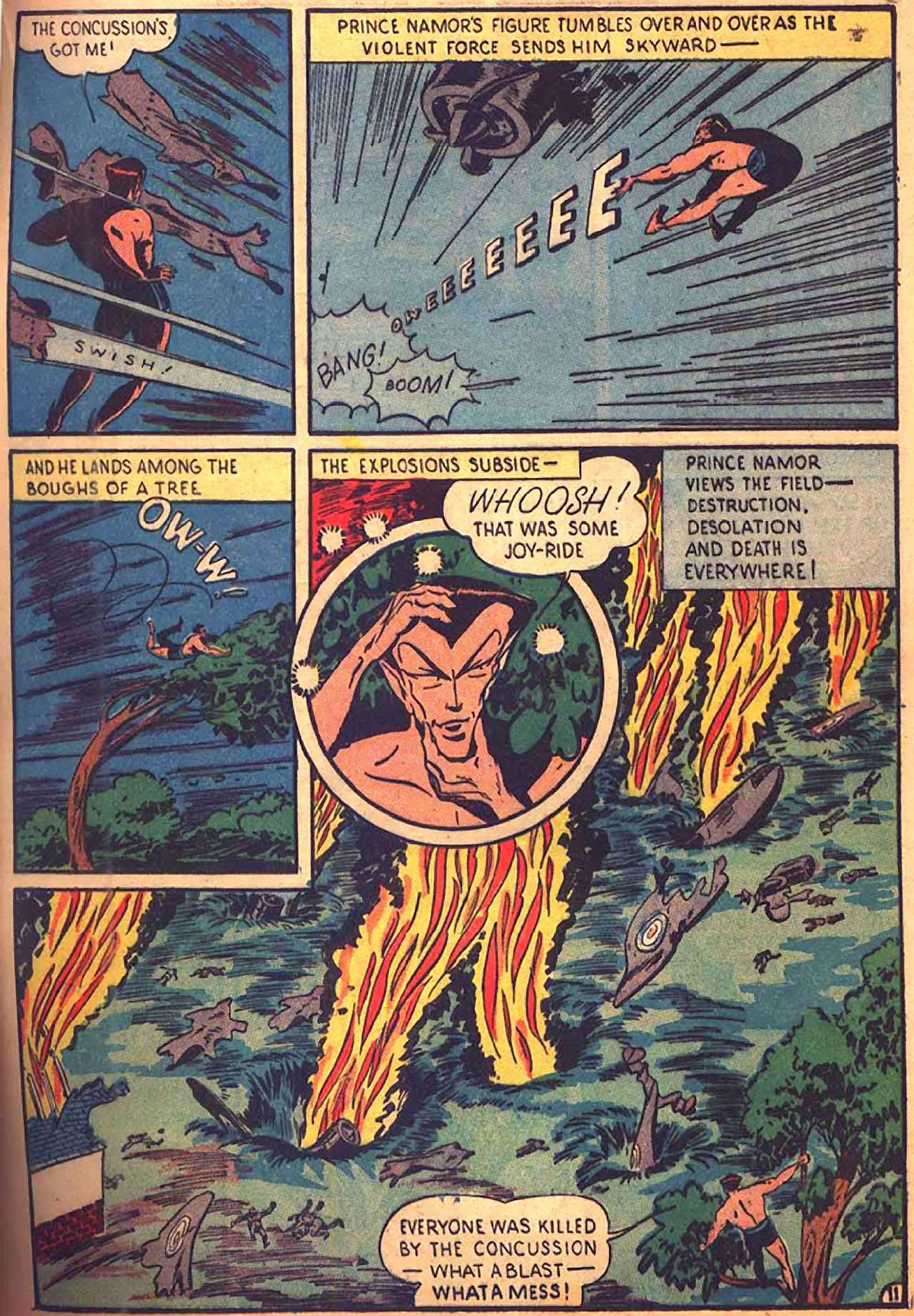 Read online All-Winners Comics comic -  Issue #9 - 38