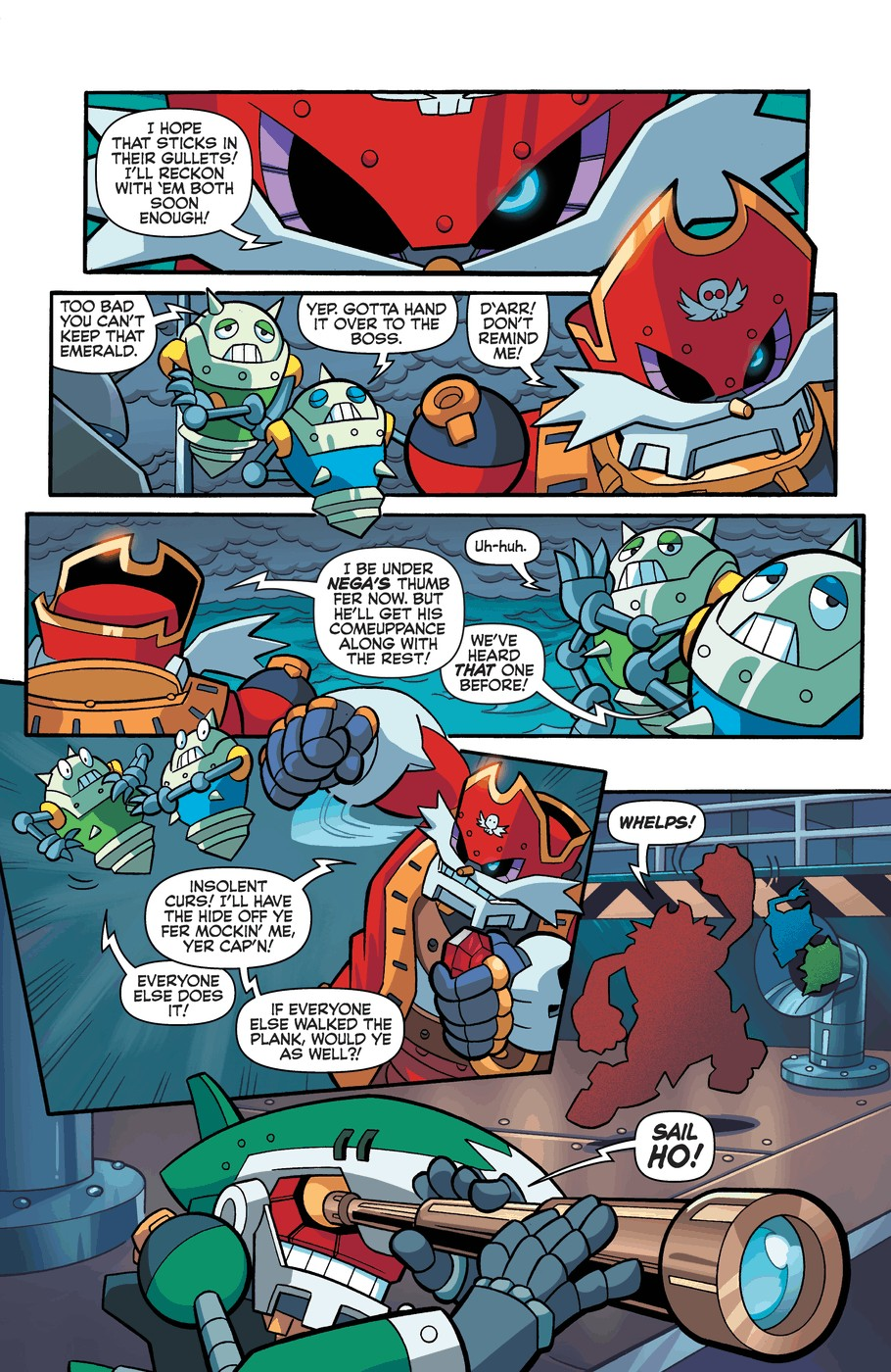Read online Sonic Universe comic -  Issue #57 - 13
