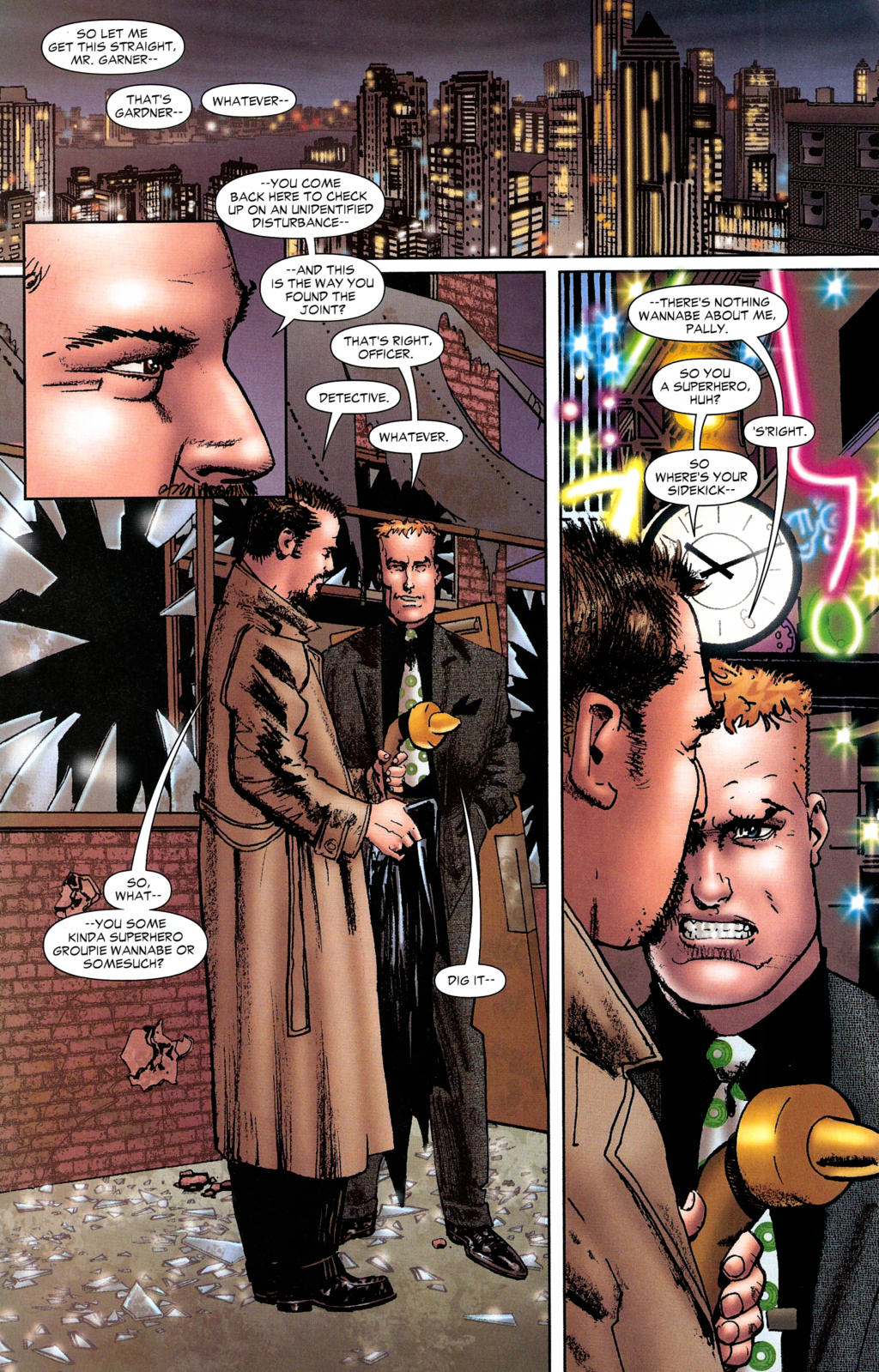 Read online Guy Gardner: Collateral Damage comic -  Issue #2 - 7