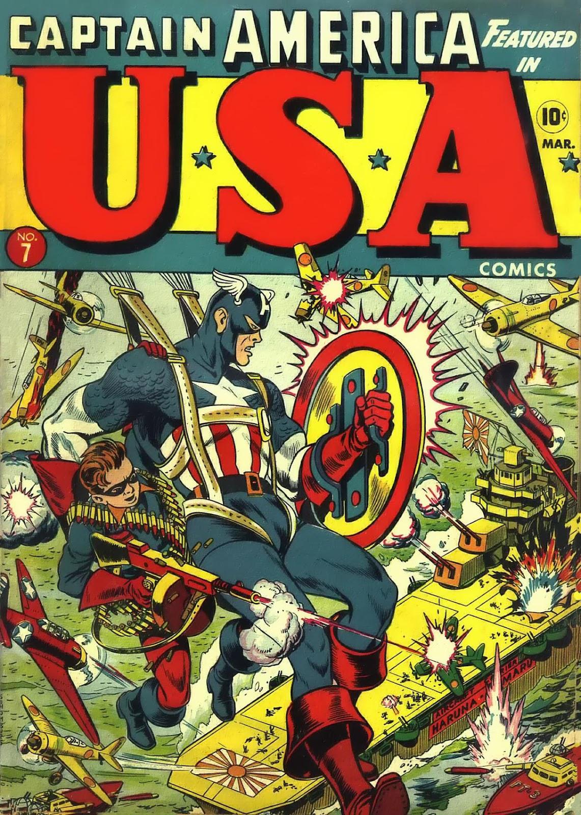 USA Comics 7 Page 1