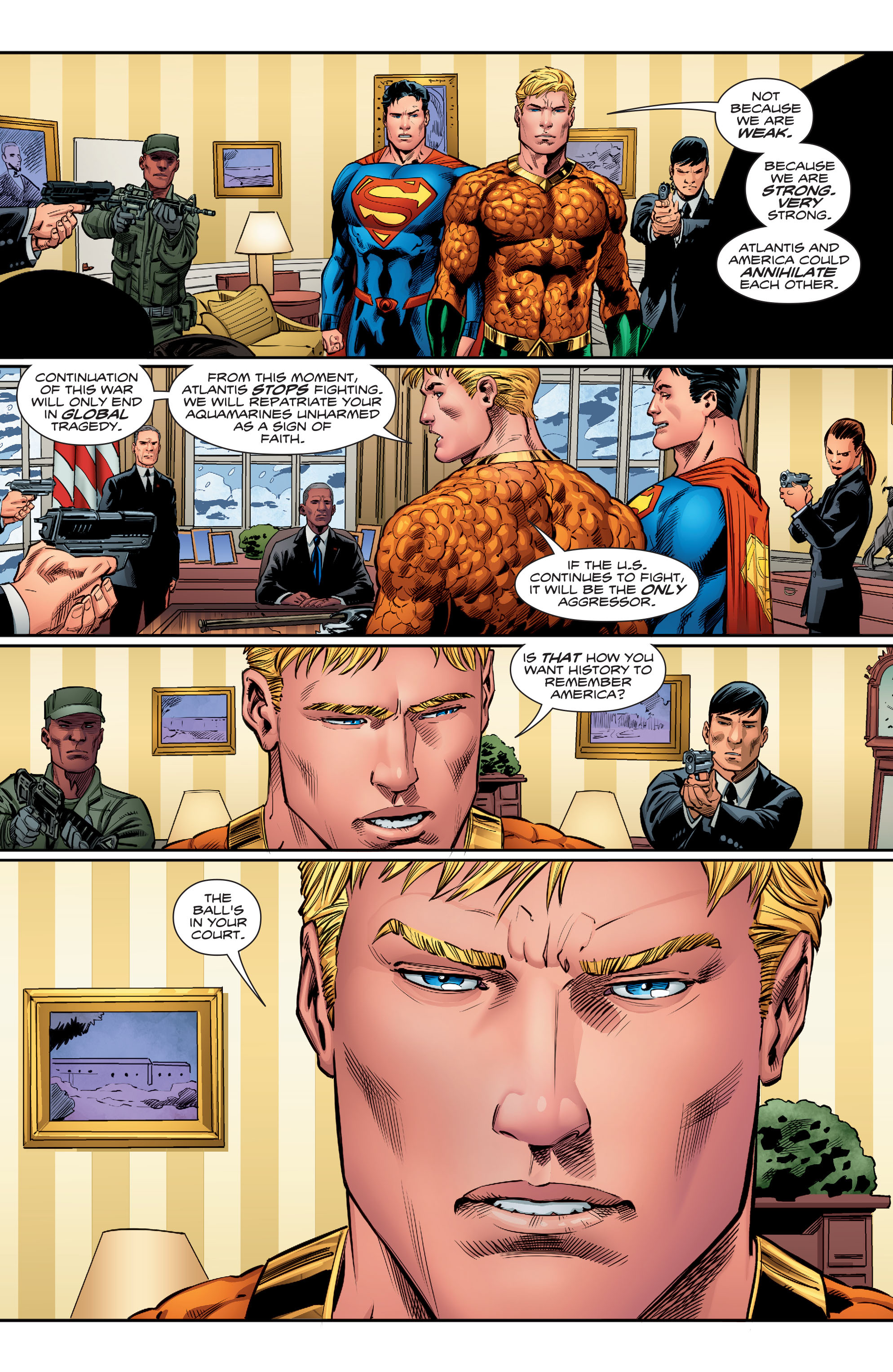 Read online Aquaman (2016) comic -  Issue #15 - 17
