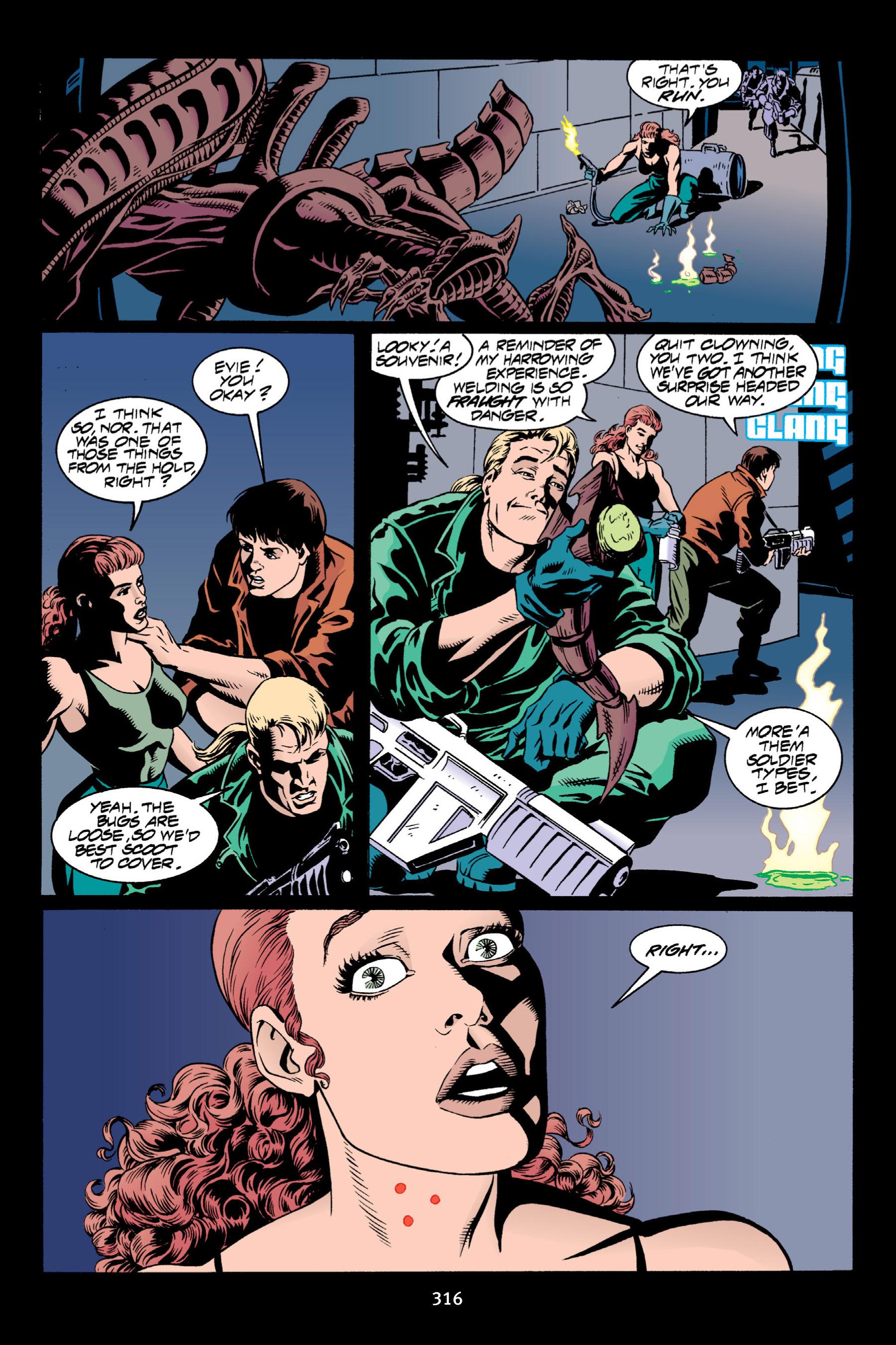 Read online Aliens vs. Predator Omnibus comic -  Issue # _TPB 2 Part 3 - 91