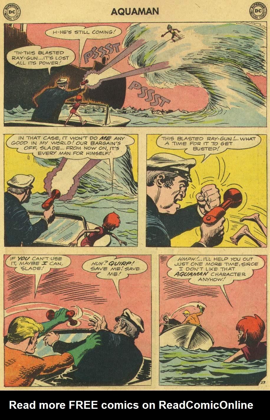 Read online Aquaman (1962) comic -  Issue #6 - 31