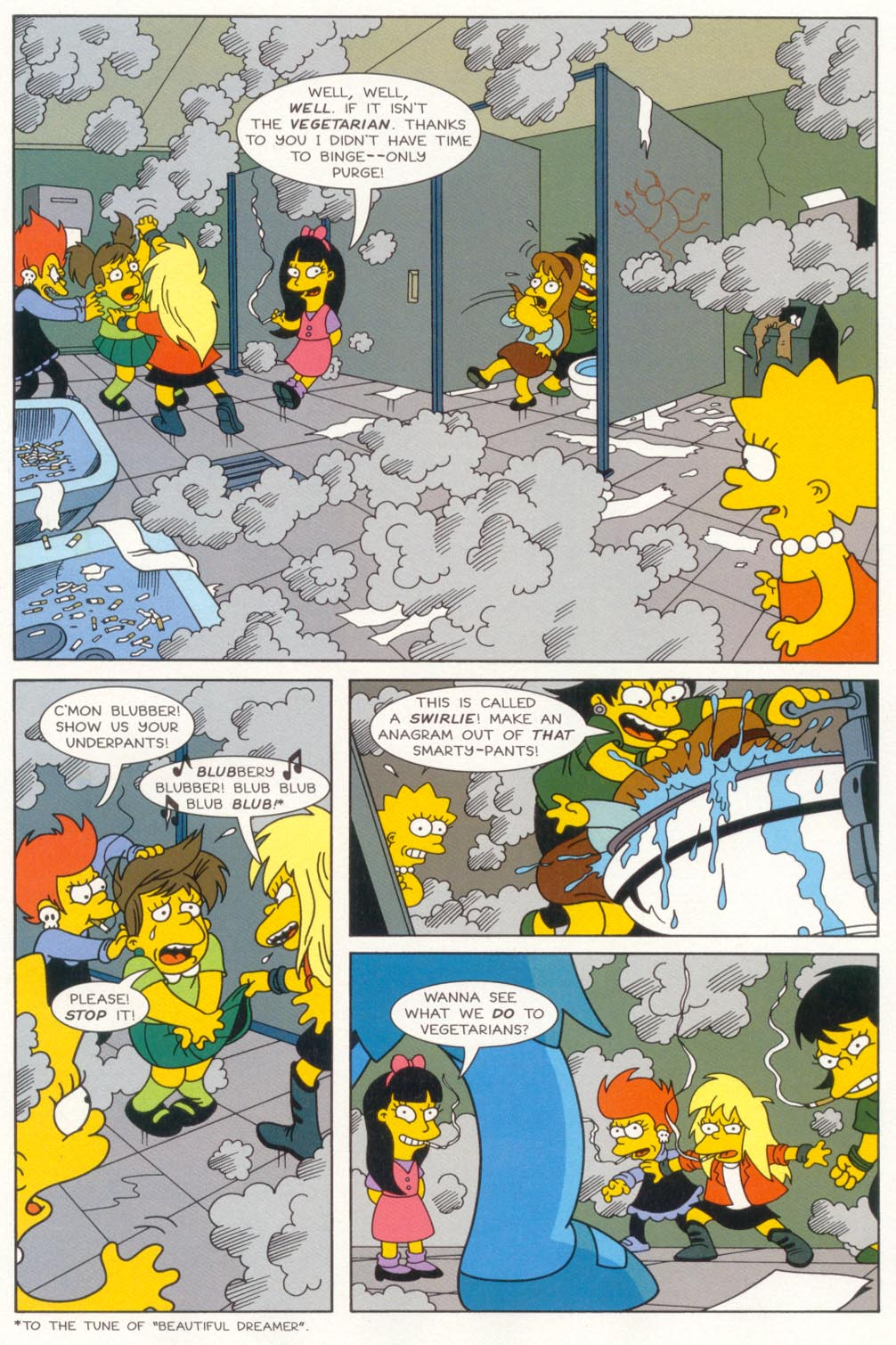 Read online Treehouse of Horror comic -  Issue #5 - 4